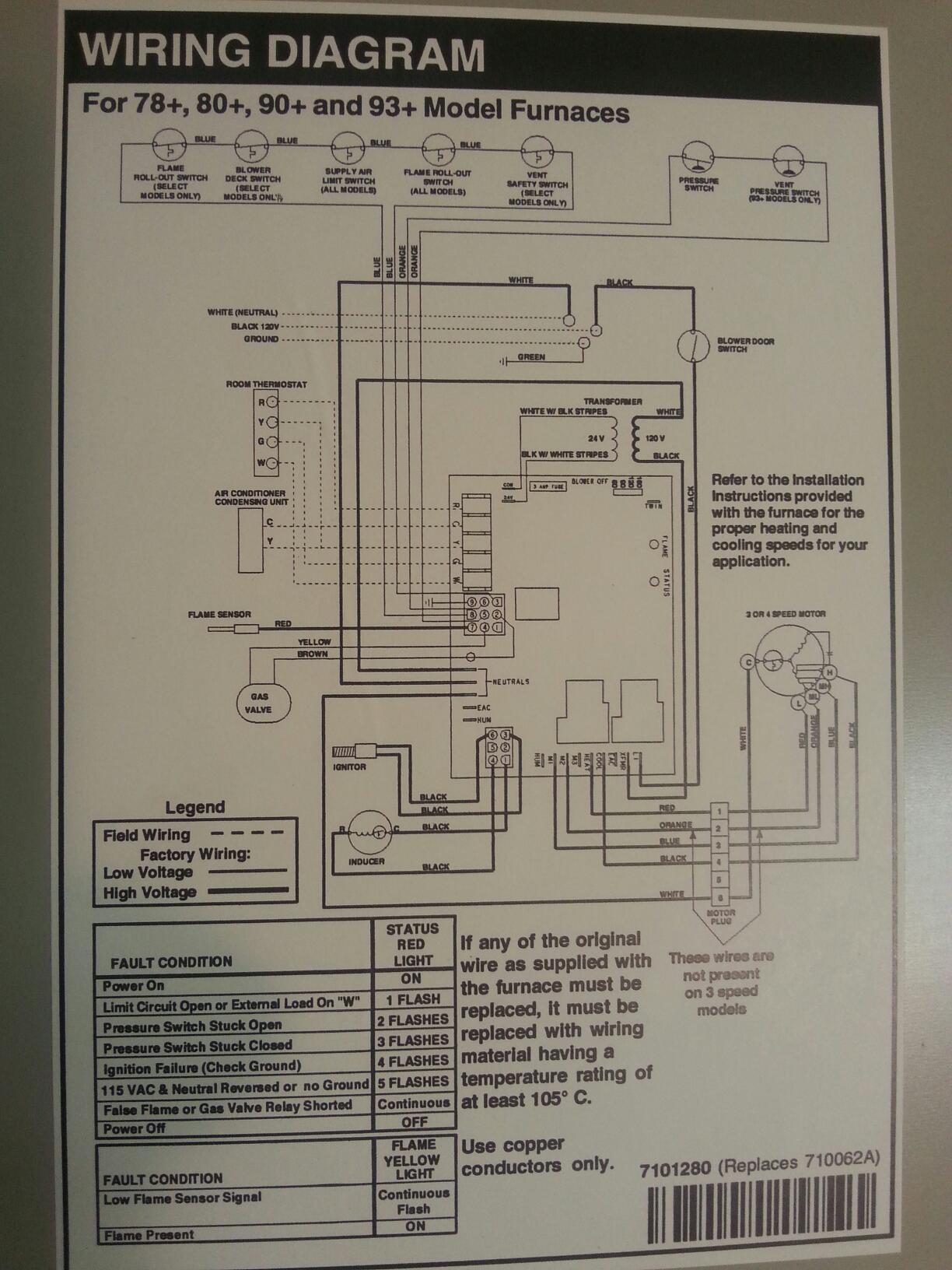 Furnace Thermostat Wiring Diagram On Dayton Gas Furnace Wiring