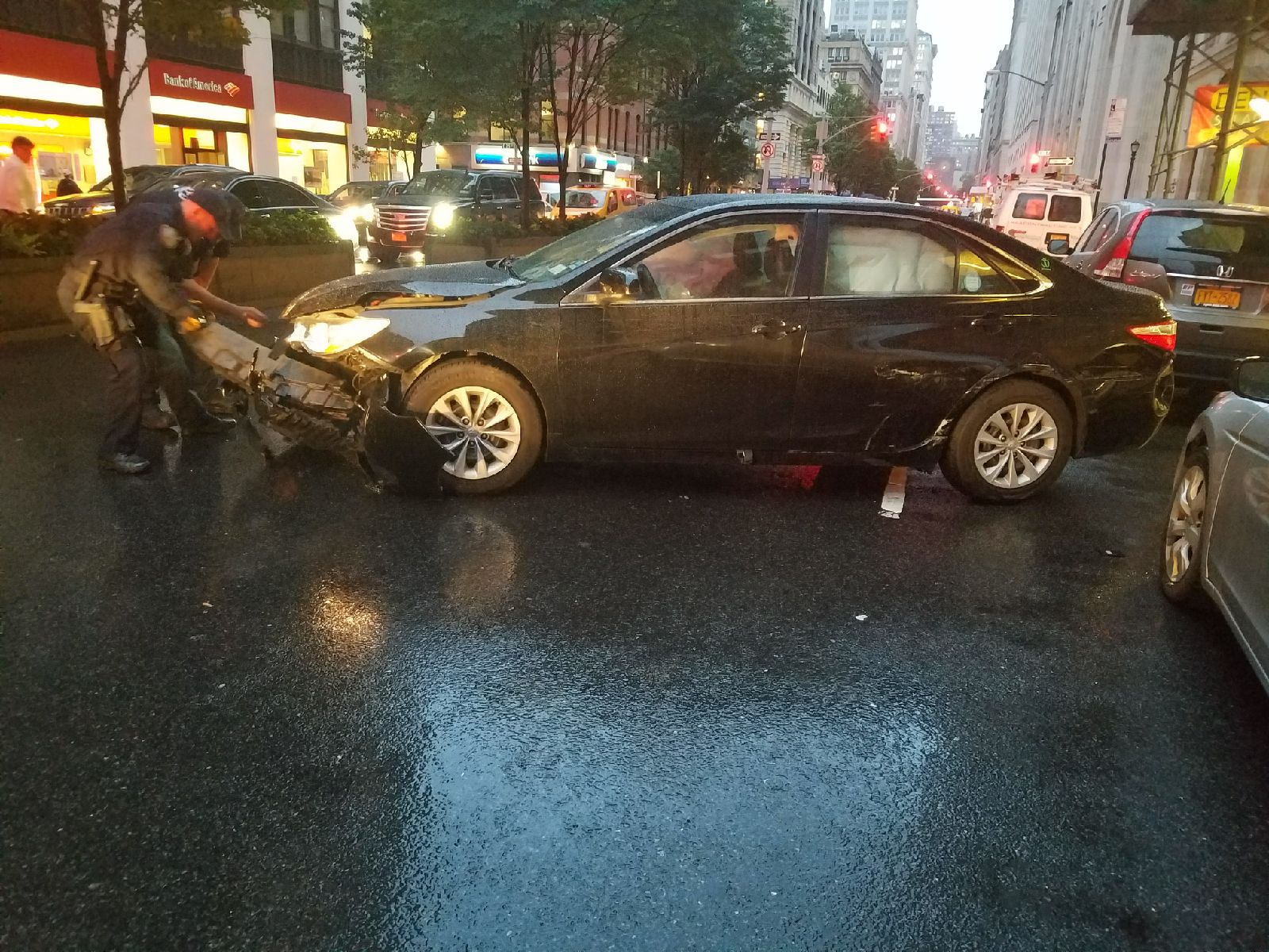 Can A 2015 Toyota Camry Hybrid With Front End Damage And