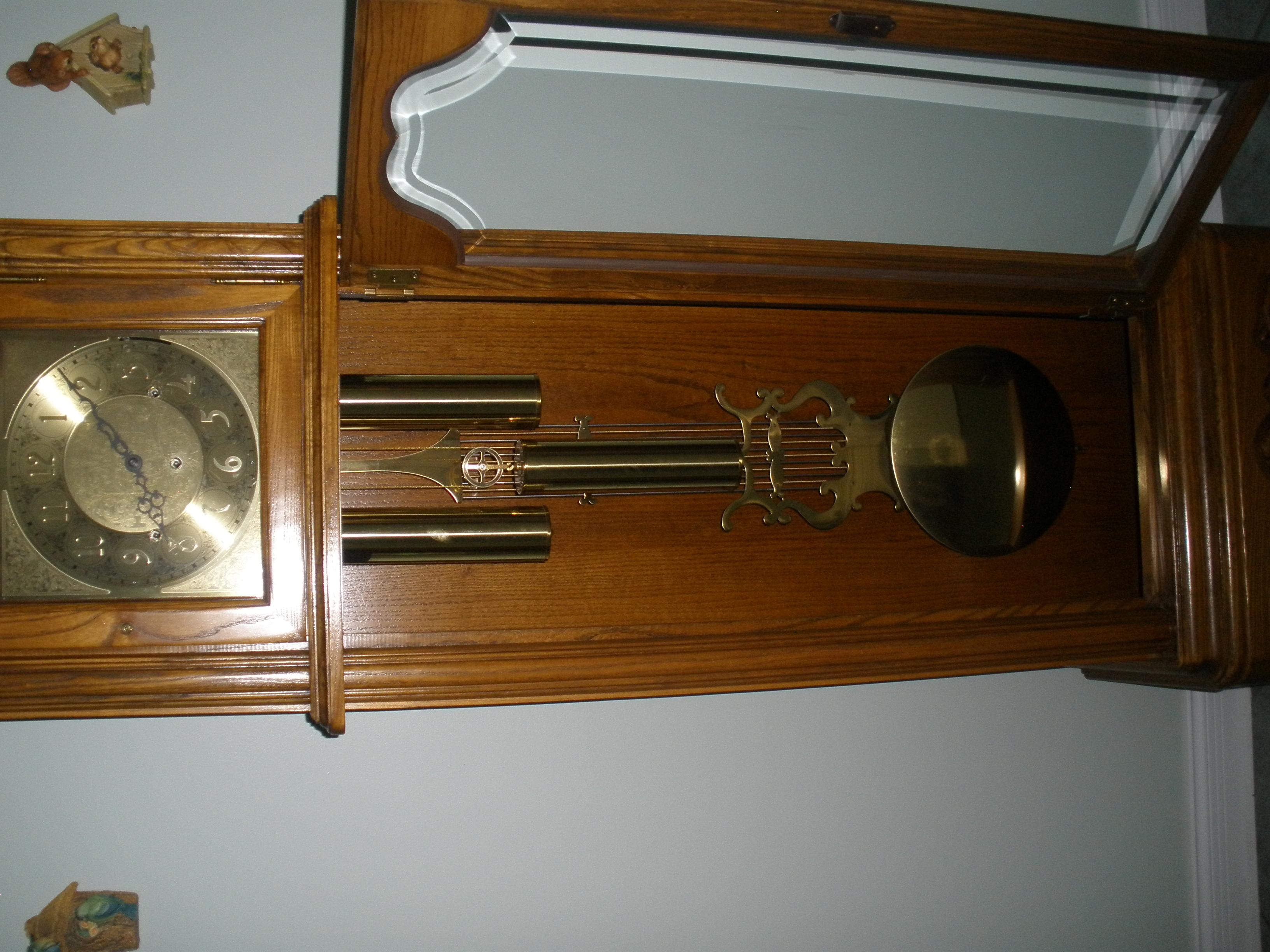 I Have A Limited Edition Kelohna Clock Salem Clock Co My Grandson