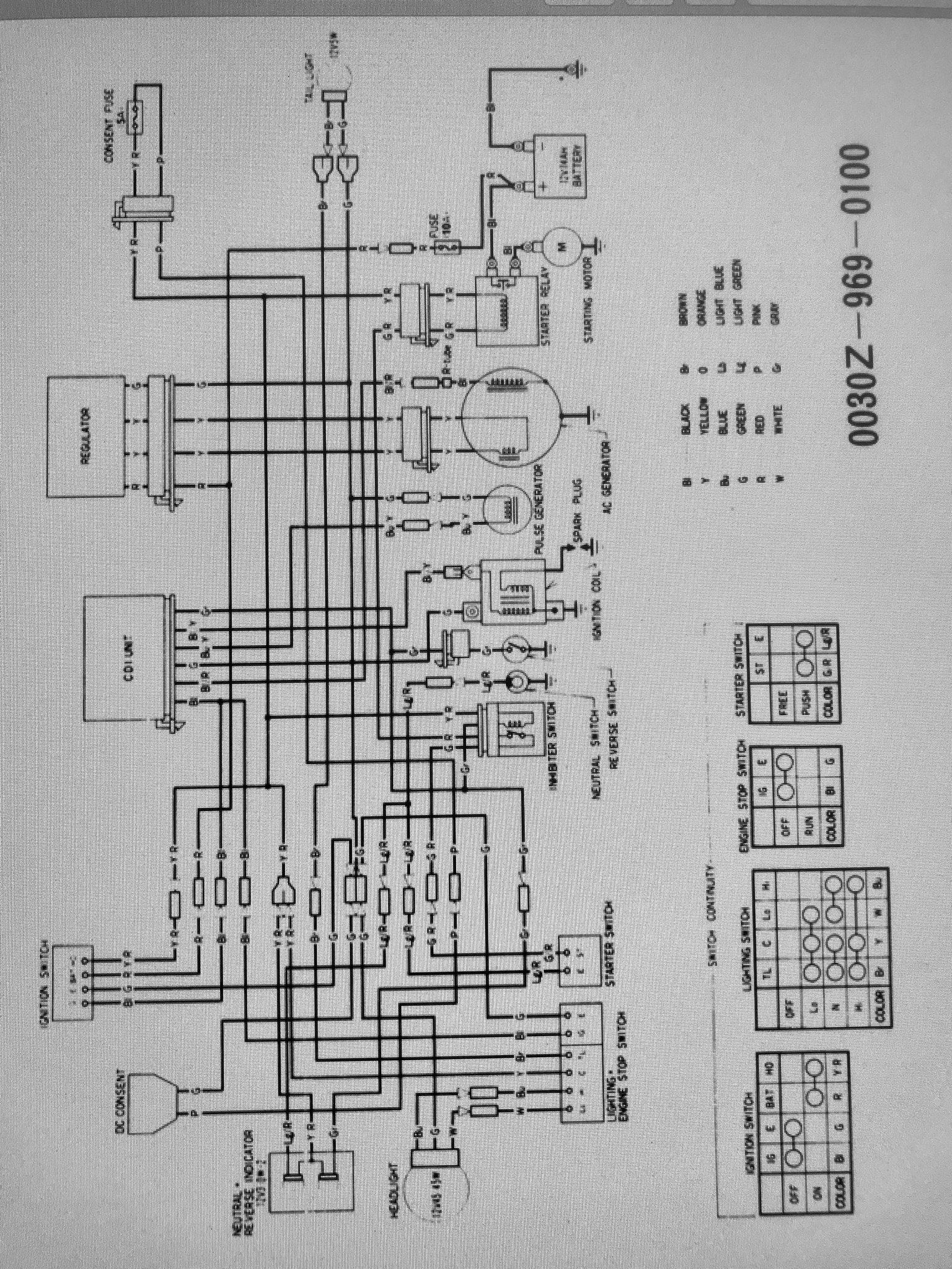 1984 Honda Big Red Wiring Diagram