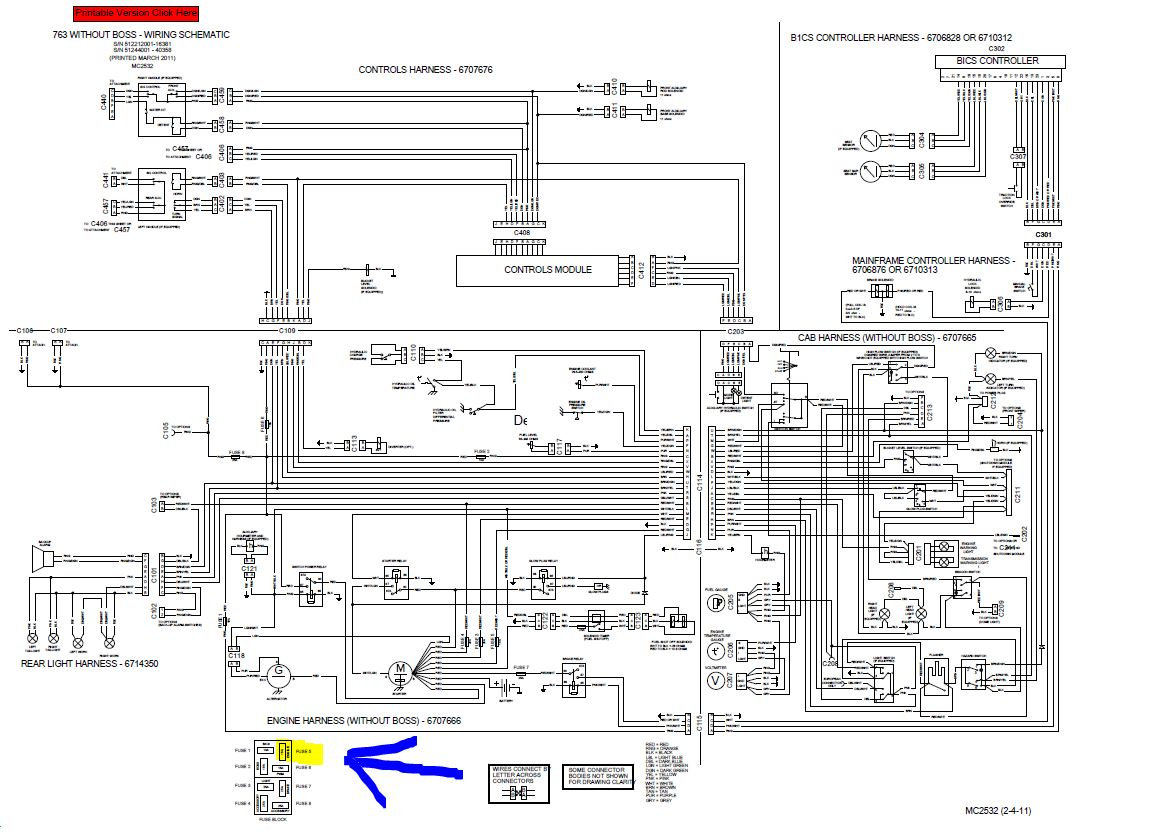 [DIAGRAM_5LK]  Bobcat Wiring Diagrams - 84 Caprice Fuse Diagram for Wiring Diagram  Schematics | T180 Bobcat Wire Diagram |  | Wiring Diagram Schematics