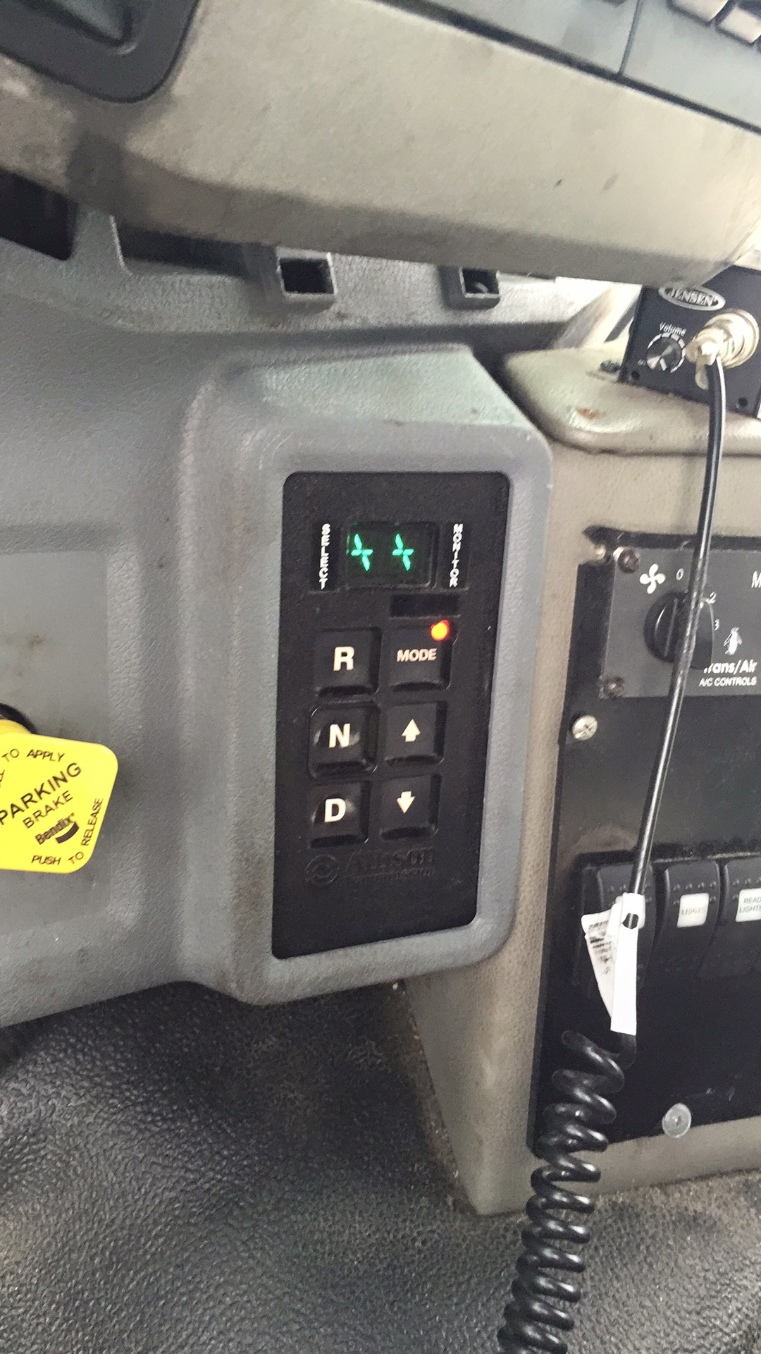 I have a 2011 Ford F-750 6 7isb with Allison 3000 transmission  I