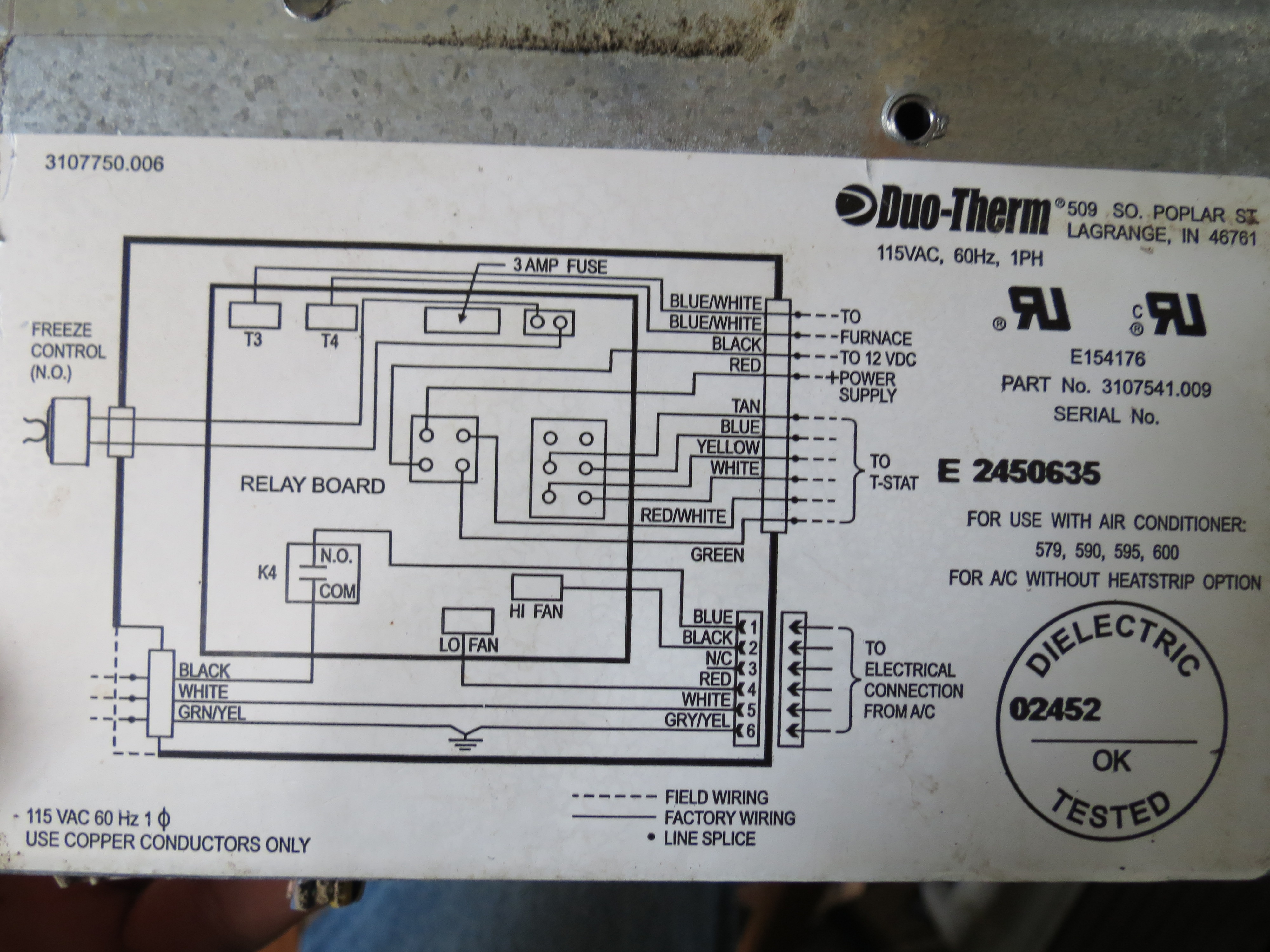 Duo Therm Thermostat Wiring Skyline Great Installation Of Digital Rv Diagram I Am Trying To Replace Analog With A One Rh Justanswer Com Furnace Ac Dia
