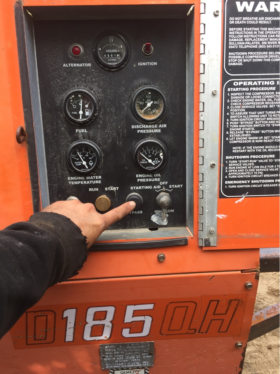 I hav a problem with a air copresor D185QH with jonh deer