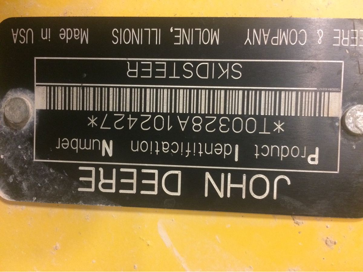 Need assistance in getting my Deere 328 skids steer running