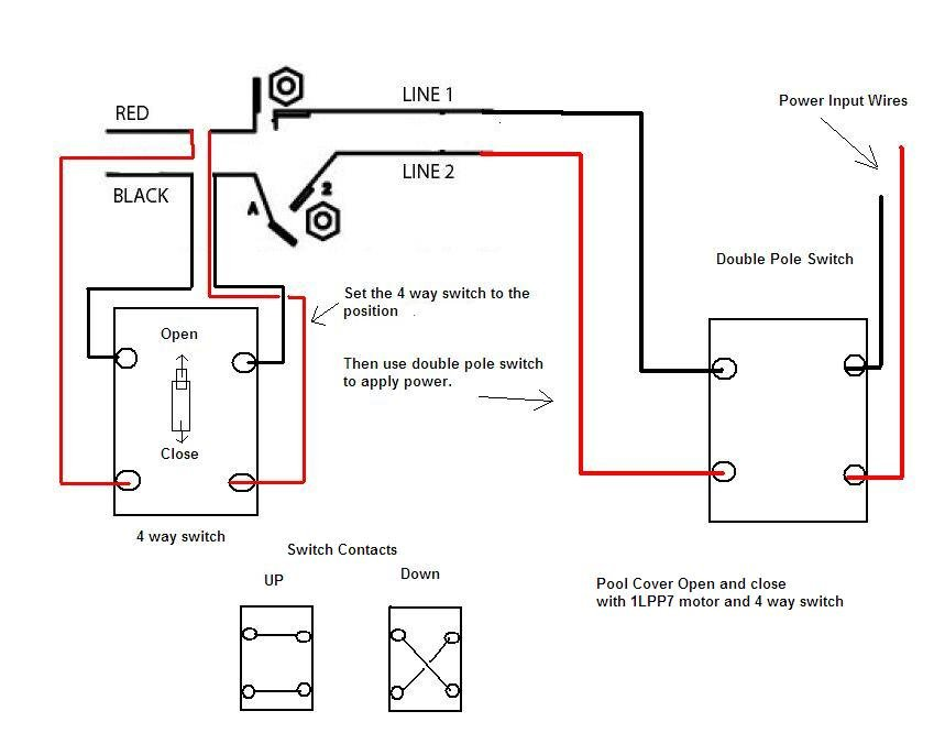 reversing single phase ac motor wiring diagram: i have a 1/4 hp 18