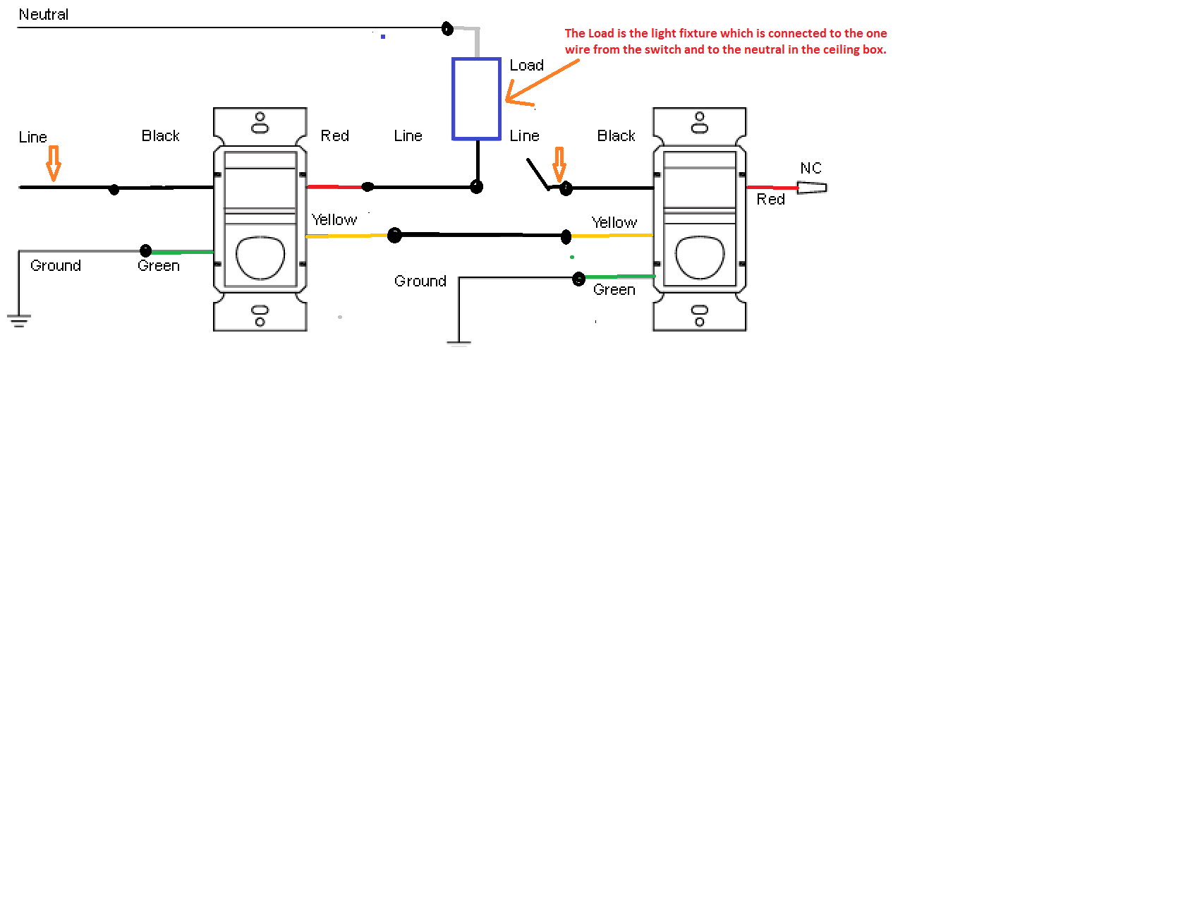 Legrand Single Pole Light Switch Wiring Diagram from f01.justanswer.com