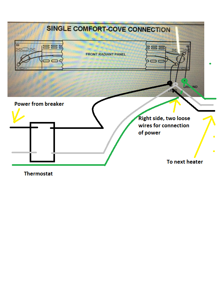 cove heater wiring diagram   26 wiring diagram images