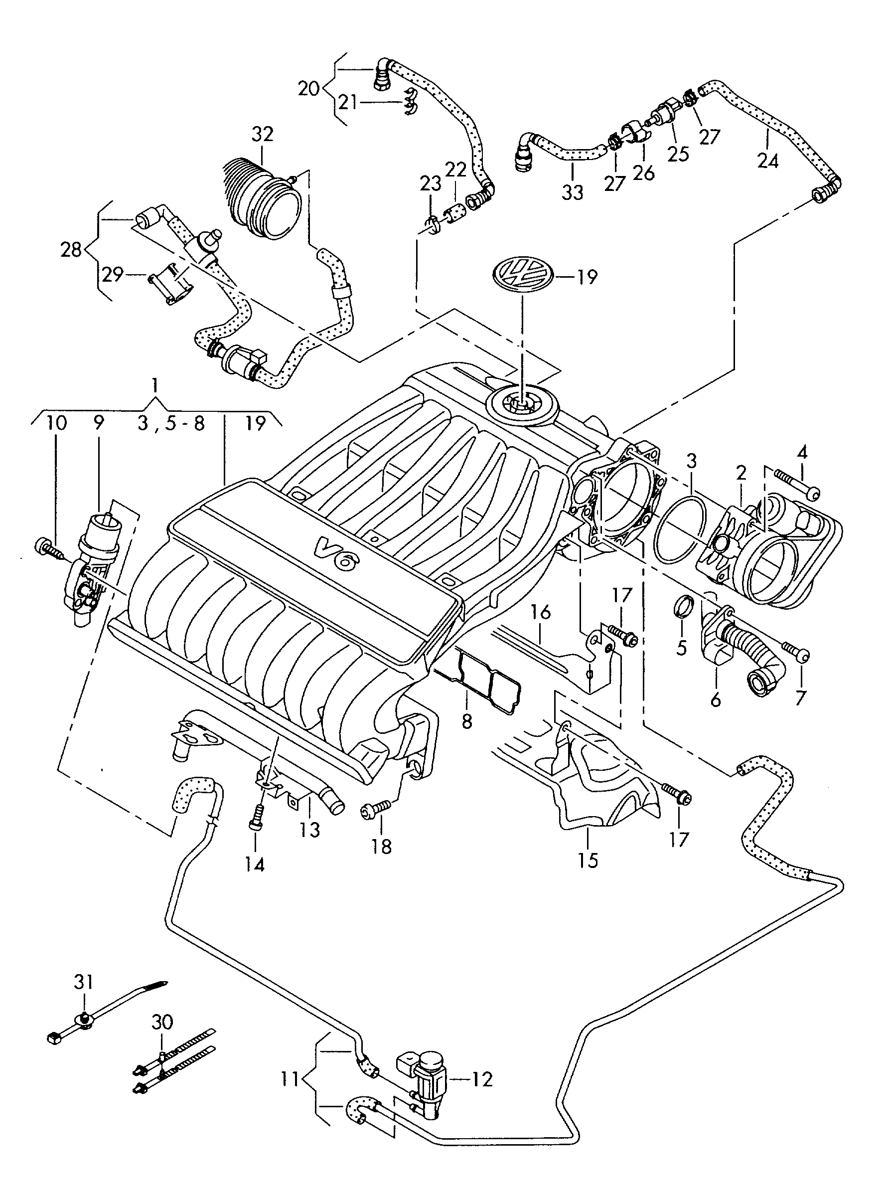 Would it be possible to have a vacuum diagram for my Audi Q7 2007 3.6lJustAnswer