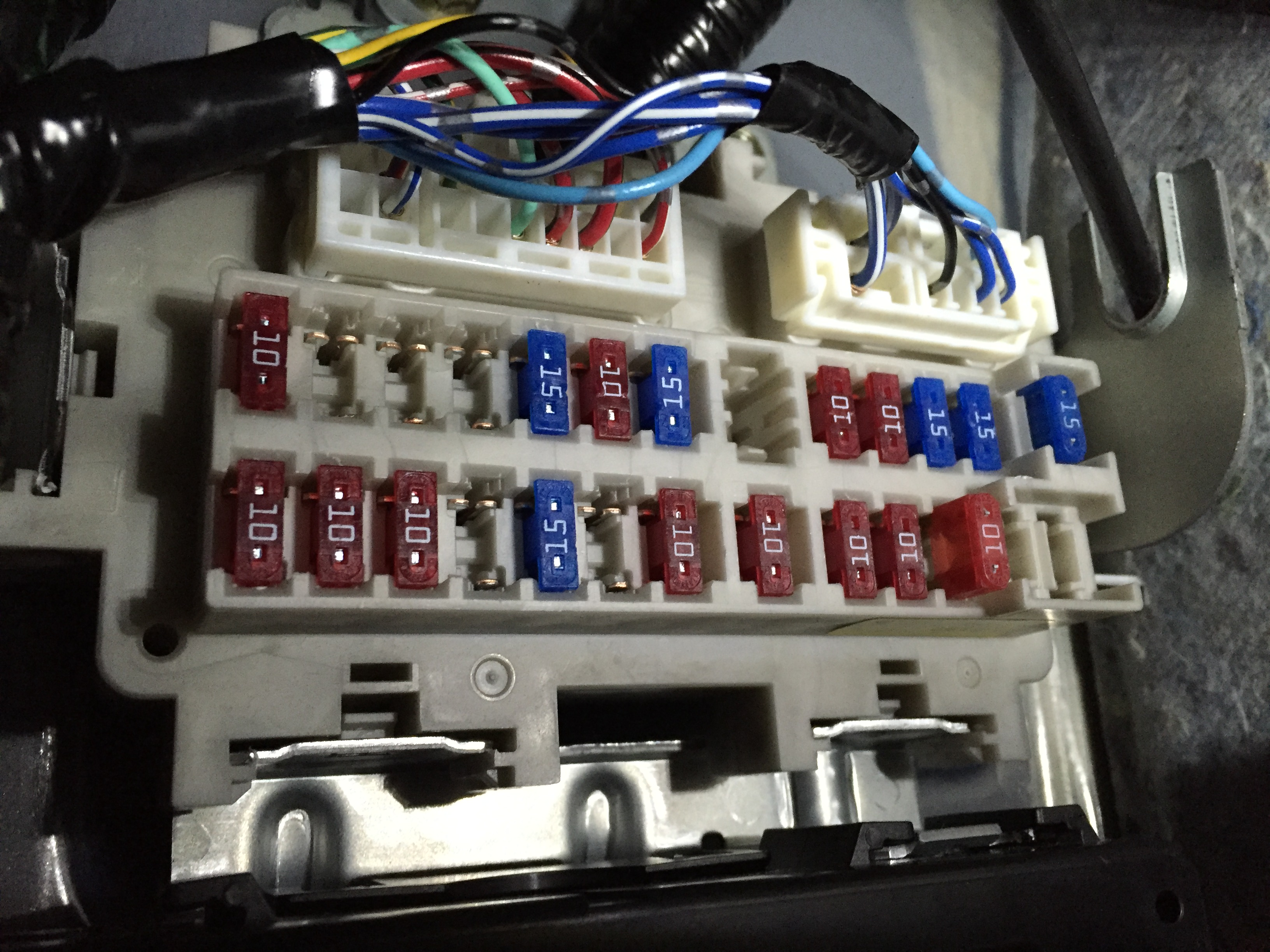 I Have A Infiniti G 35 Coupe Tried Installing Radio And Now Qx60 Fuse Box Imagejpeg