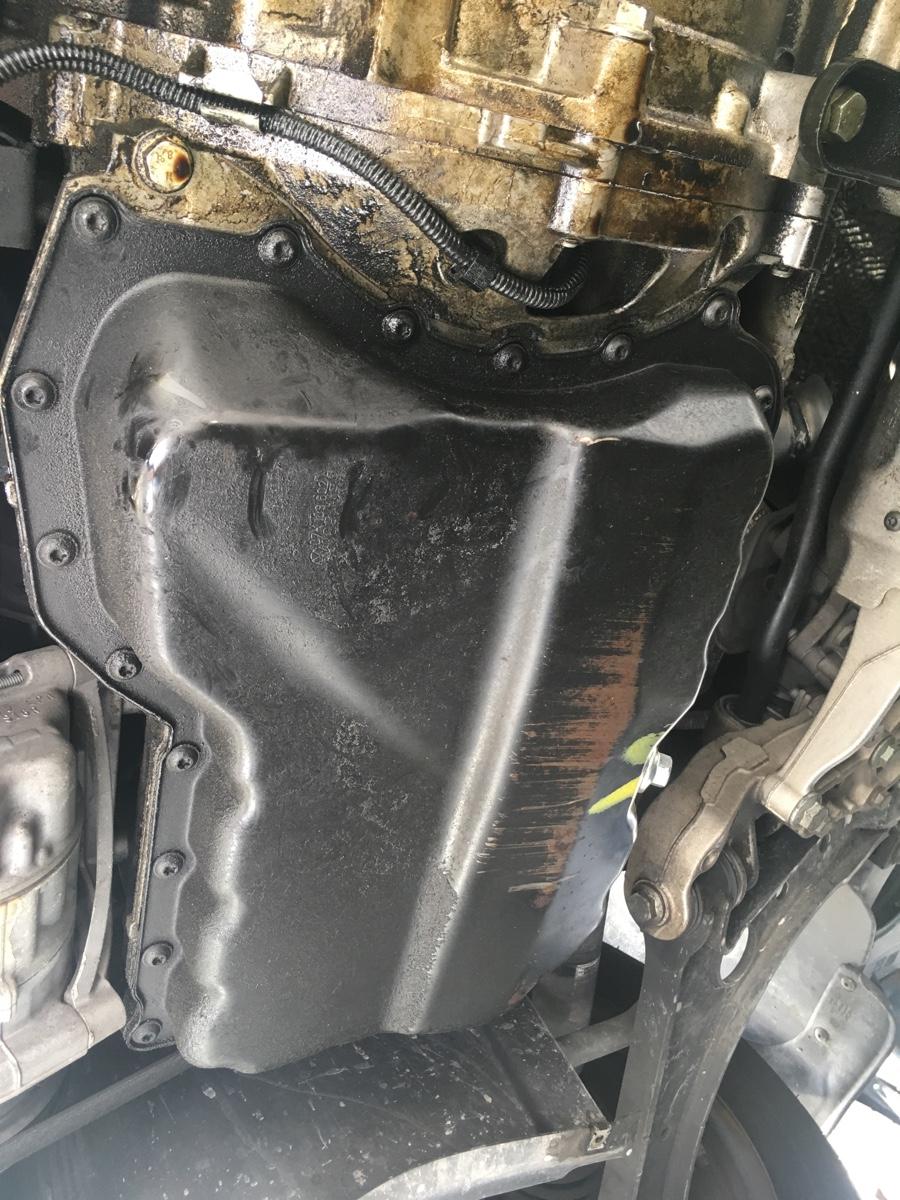 Oil leak on a 2006 VW Jetta 2.5L. Recent crank position sensor replacement due to car losing ...