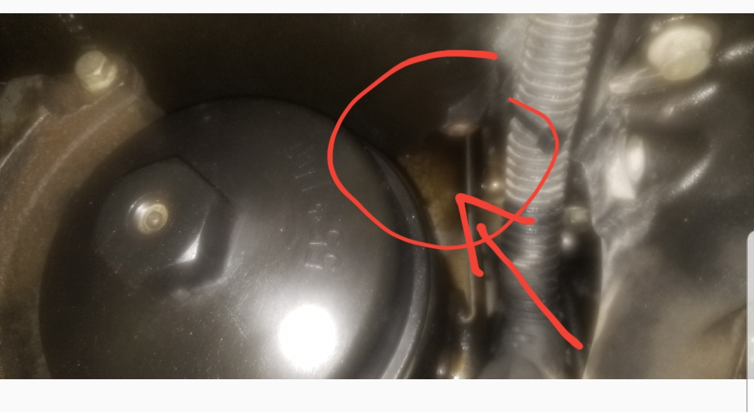 How do I drop the pan in a dd15 Cascadia?