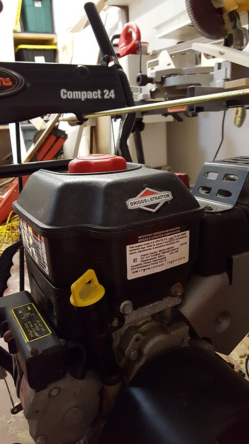 I'm having snowblower problems  I have a Airens Compact 24