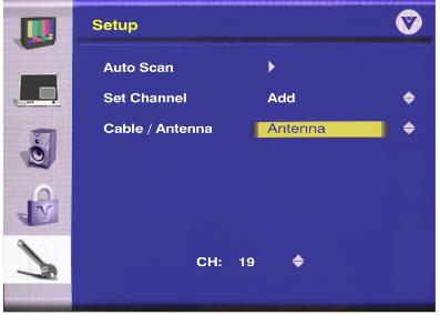 Setup antenna vizio tv Smart TVs