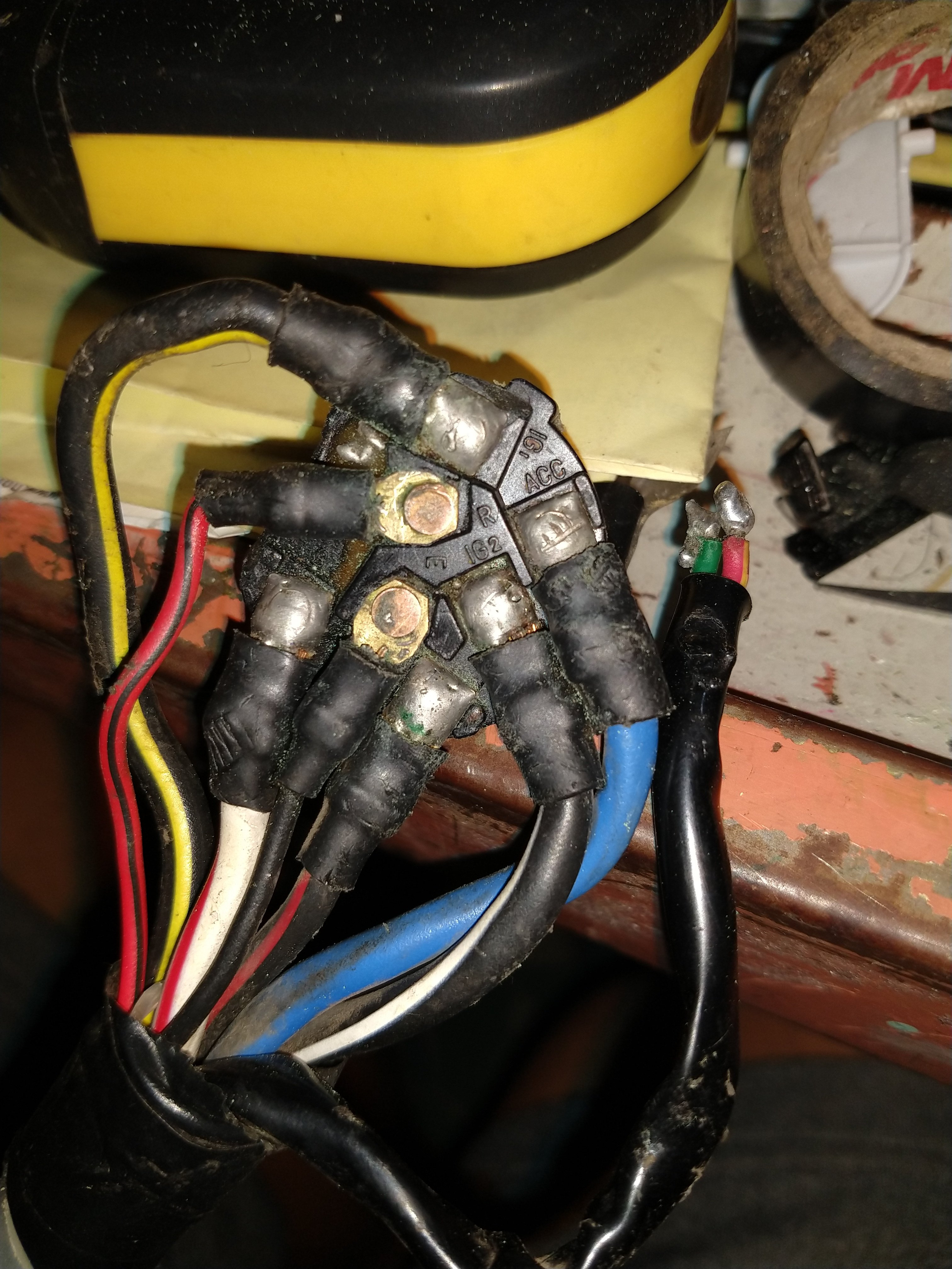 IM trying to replace ignition switch on 1989 mazda B2200, I would like to  know which wires areJustAnswer