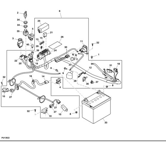 john deere 5055d engine wiring diagram  john deere  wiring