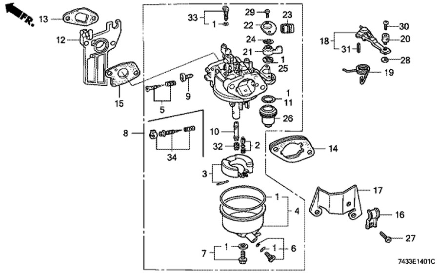 have a gc 160 cc honda engine on my pressure washer karchar about rh justanswer com Honda GCV160 Carburetor Rebuild Kit honda gcv160 pressure washer carburetor diagram