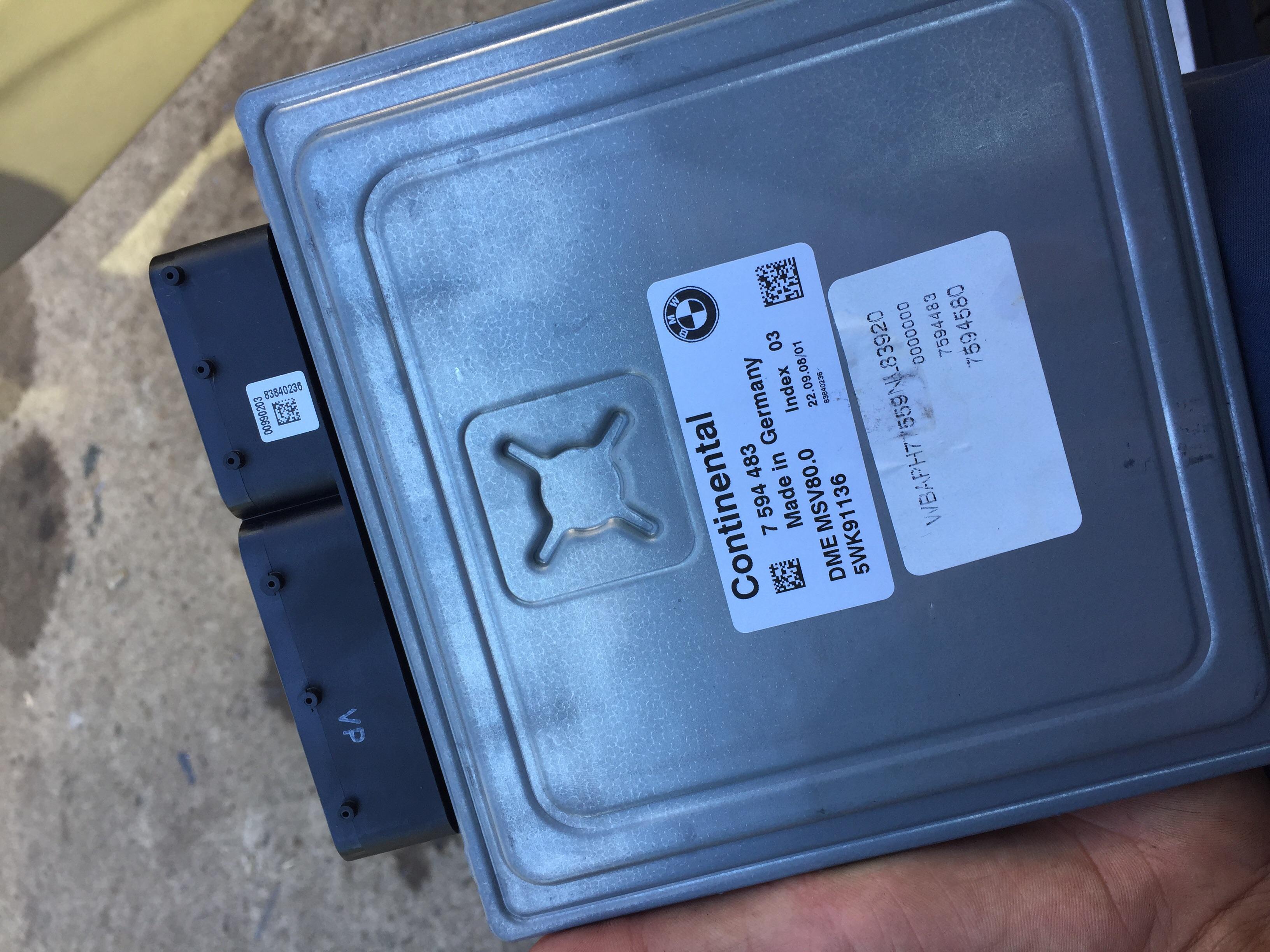 E90 Fuel Pump Plausibility