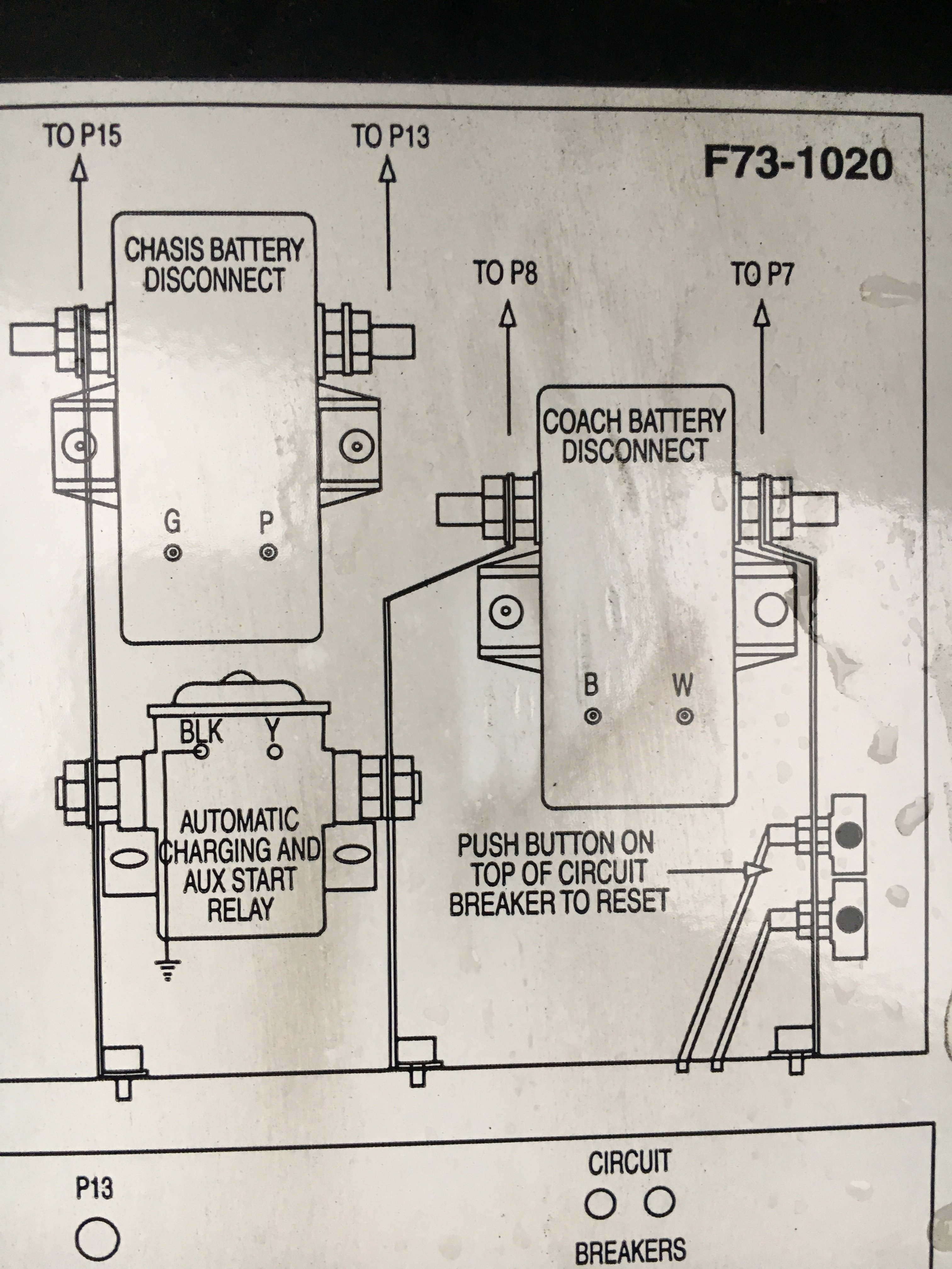 I Have A 2003 Pace Arrow The Switch For Engine Battery And. Wiring. Battery Doctor Disconnect Wiring Diagram At Scoala.co