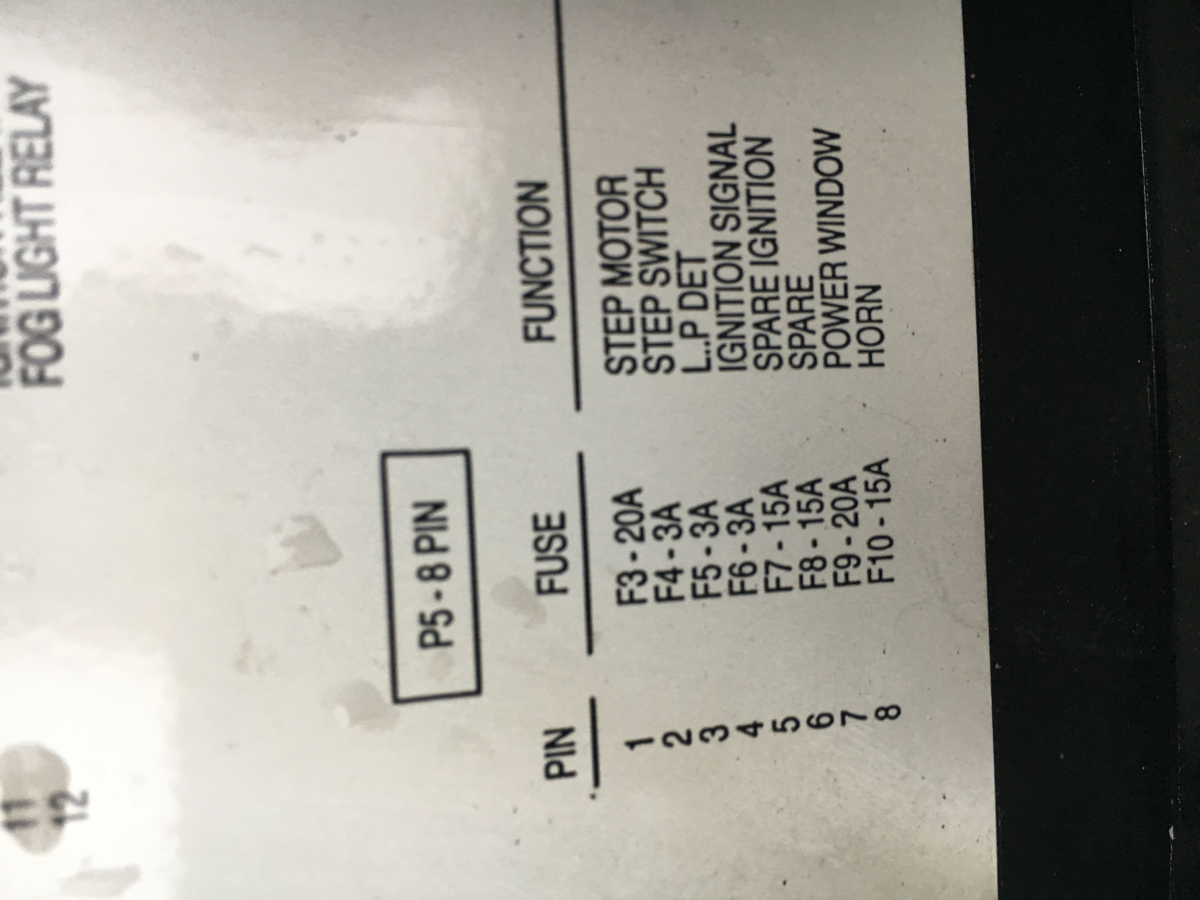 I have a 40 Pace arrow, the switch for the engine battery and ...