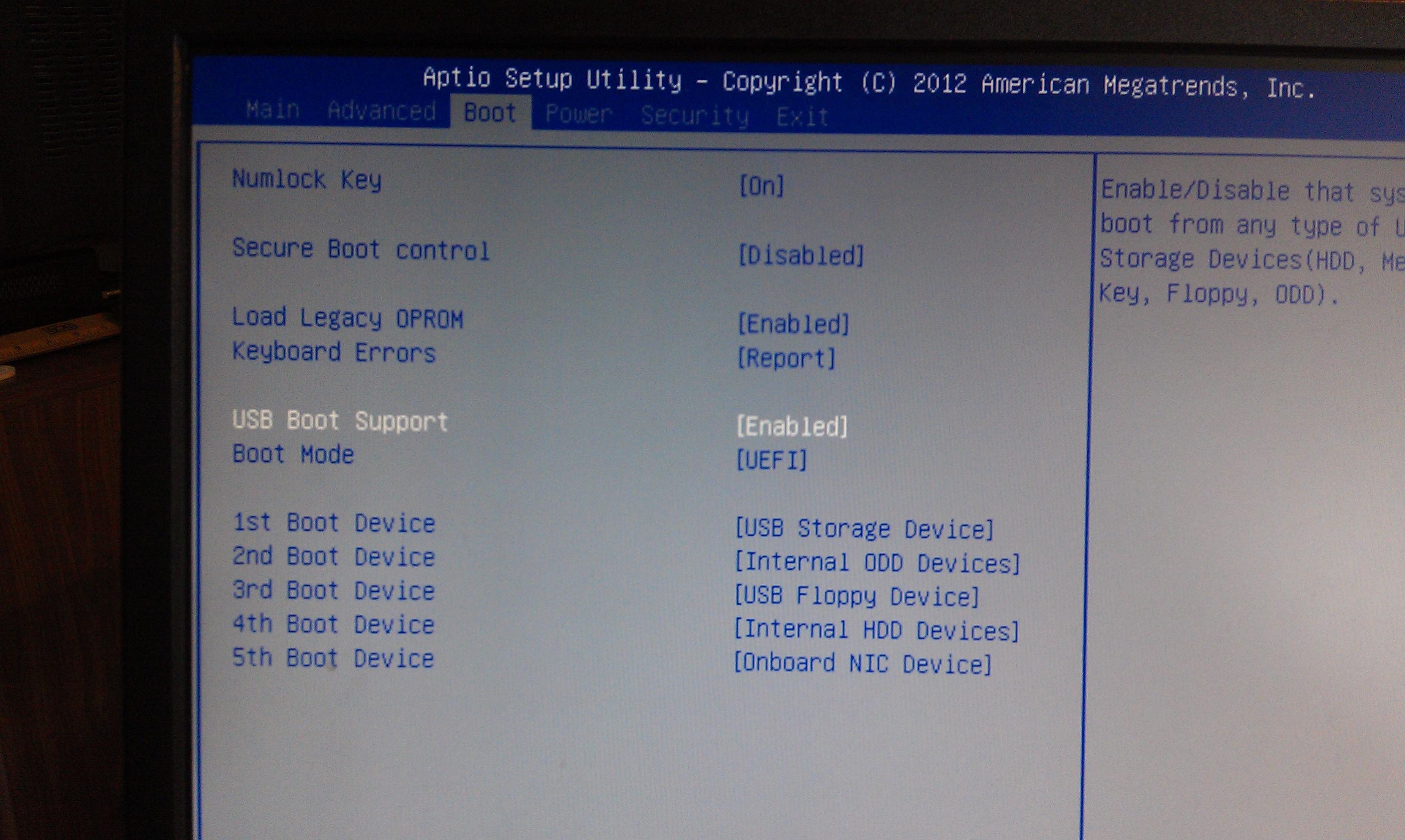 I use a Hiren's boot USB stick everyday in Latitudes, Optiplex, etc