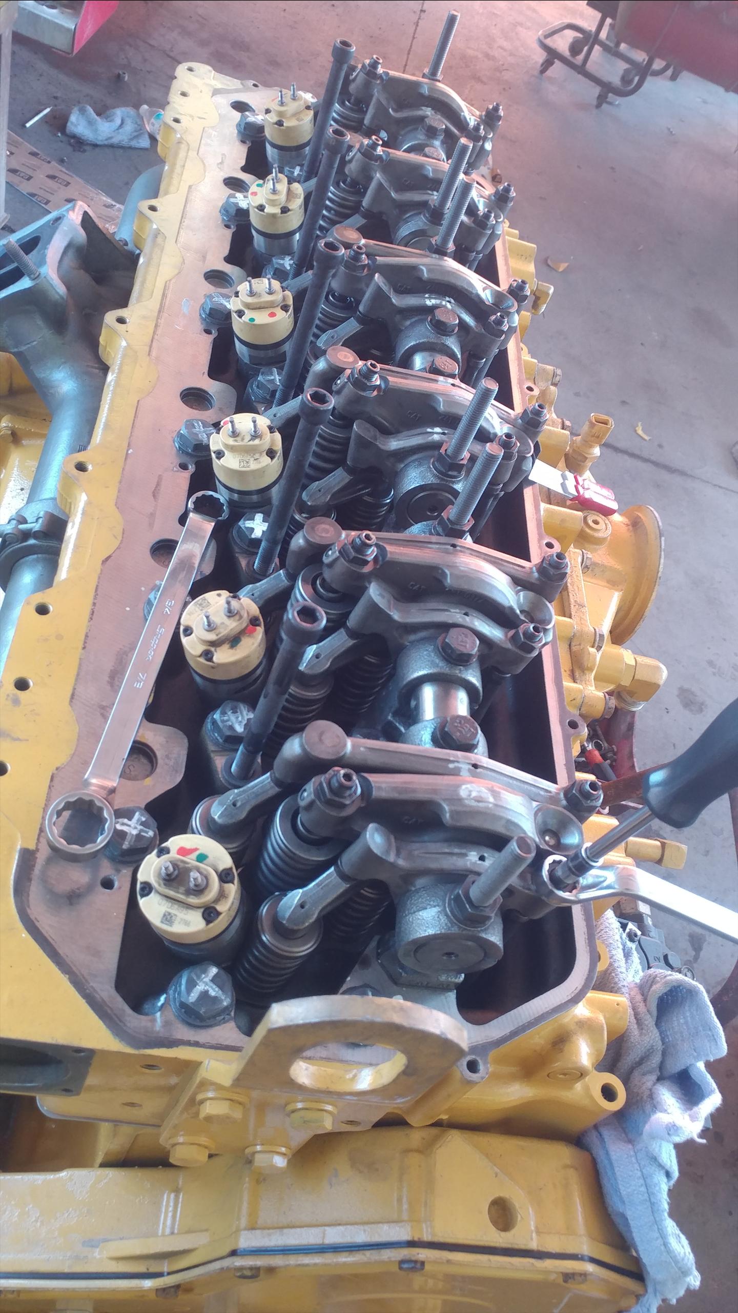 Cat c13 I'm working on a cat C13 and I put all the gears like at the