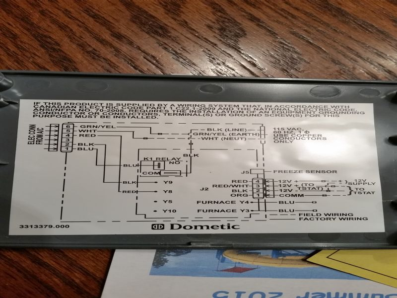 Can You Advise Me On Replacing My Rv Thermostat  What Do