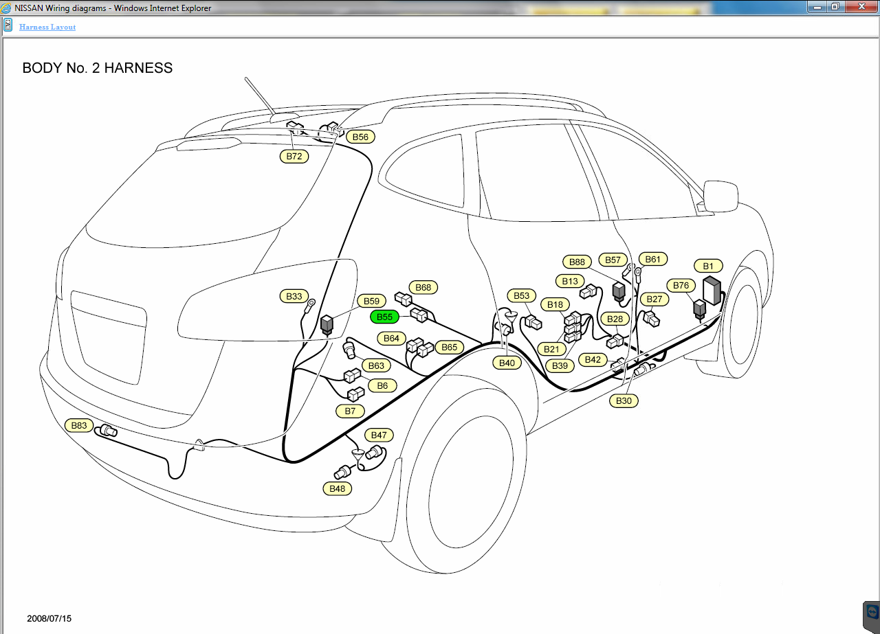 I have a 2009 Nissan rogue. ke lights in the tail section ...  Nissan Rogue Tail Light Wiring Diagram on 2015 nissan rogue engine diagram, 2015 nissan altima wiring diagram, 2015 nissan rogue door panel removal,