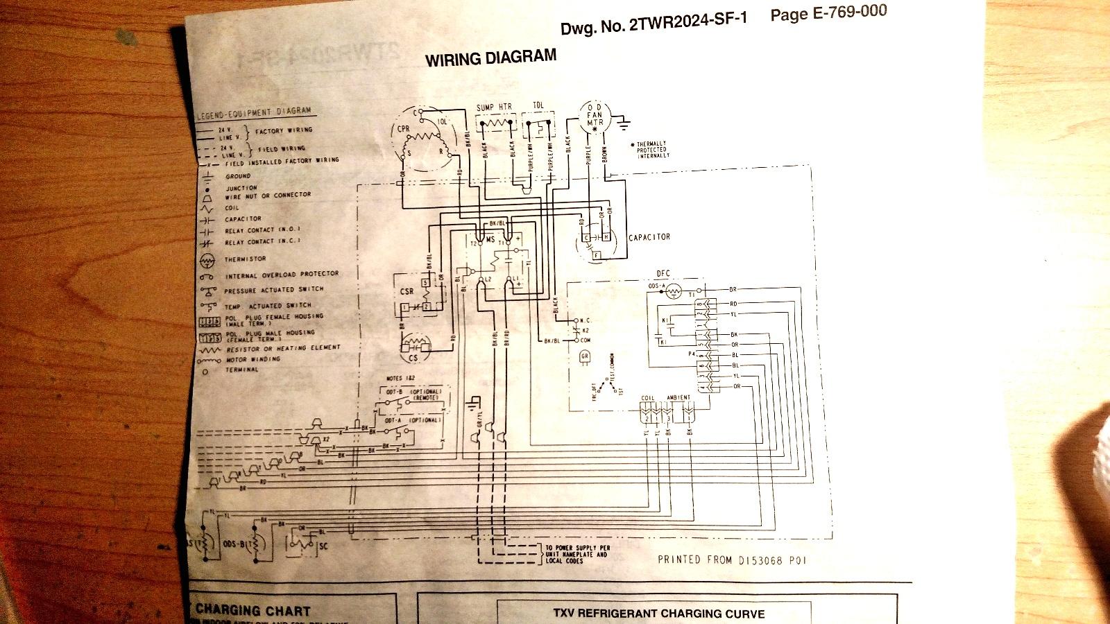 Wiring Diagram Goodman Aepf426016 Page 4 And Air Handler For Ar61 1 Magnetic Door Lock Schematics Source 2twr 2