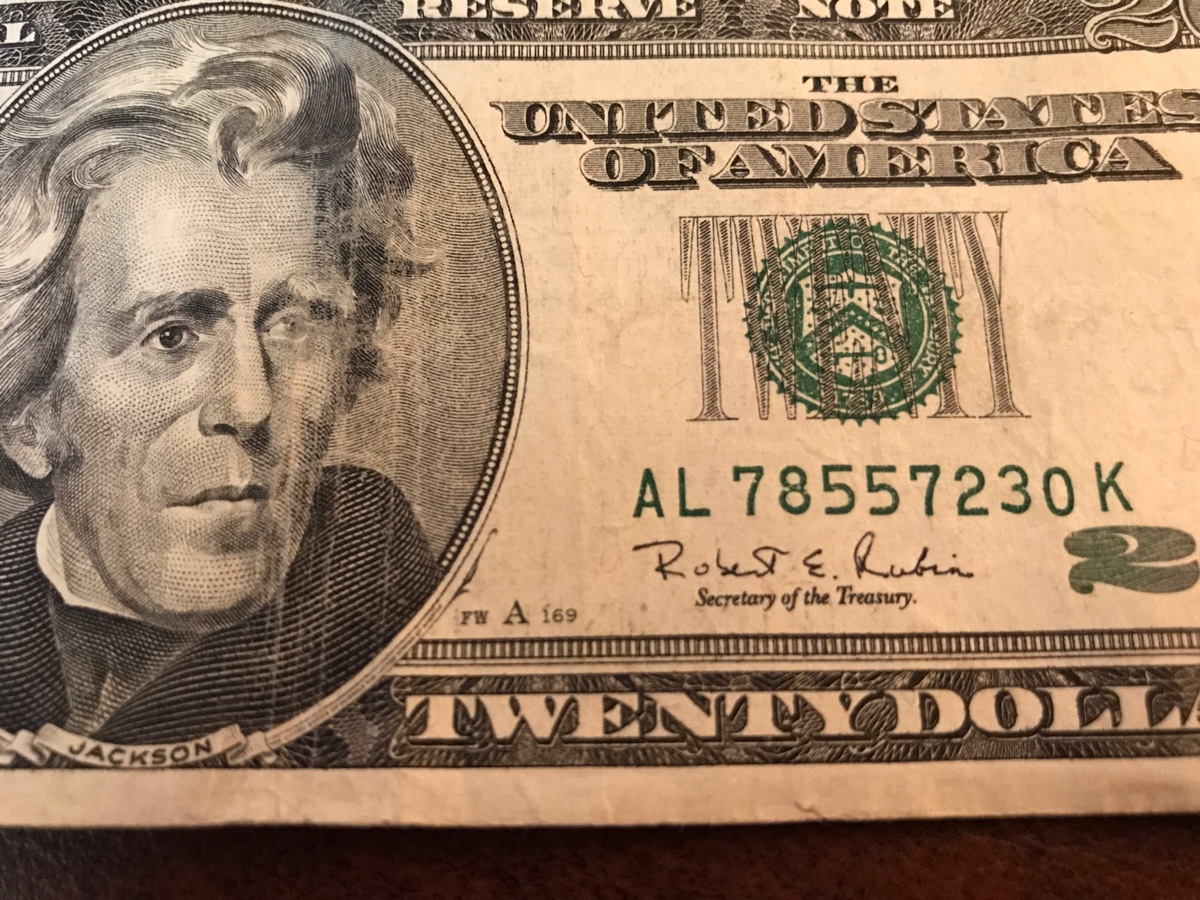 I think I have a special 20 dollar bill  1996  No seal stamp
