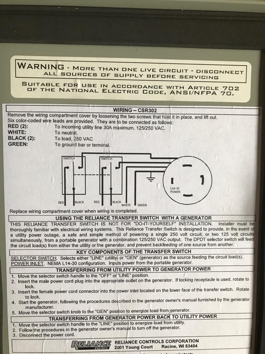 Wiring Diagram L14 30 2