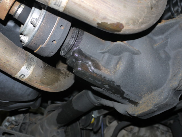 2003 ford expedition rear differential leak