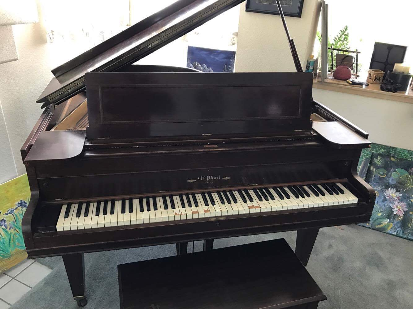 Mcphail Baby Grand No 801640 Hasnt Been Played In 15 Years But