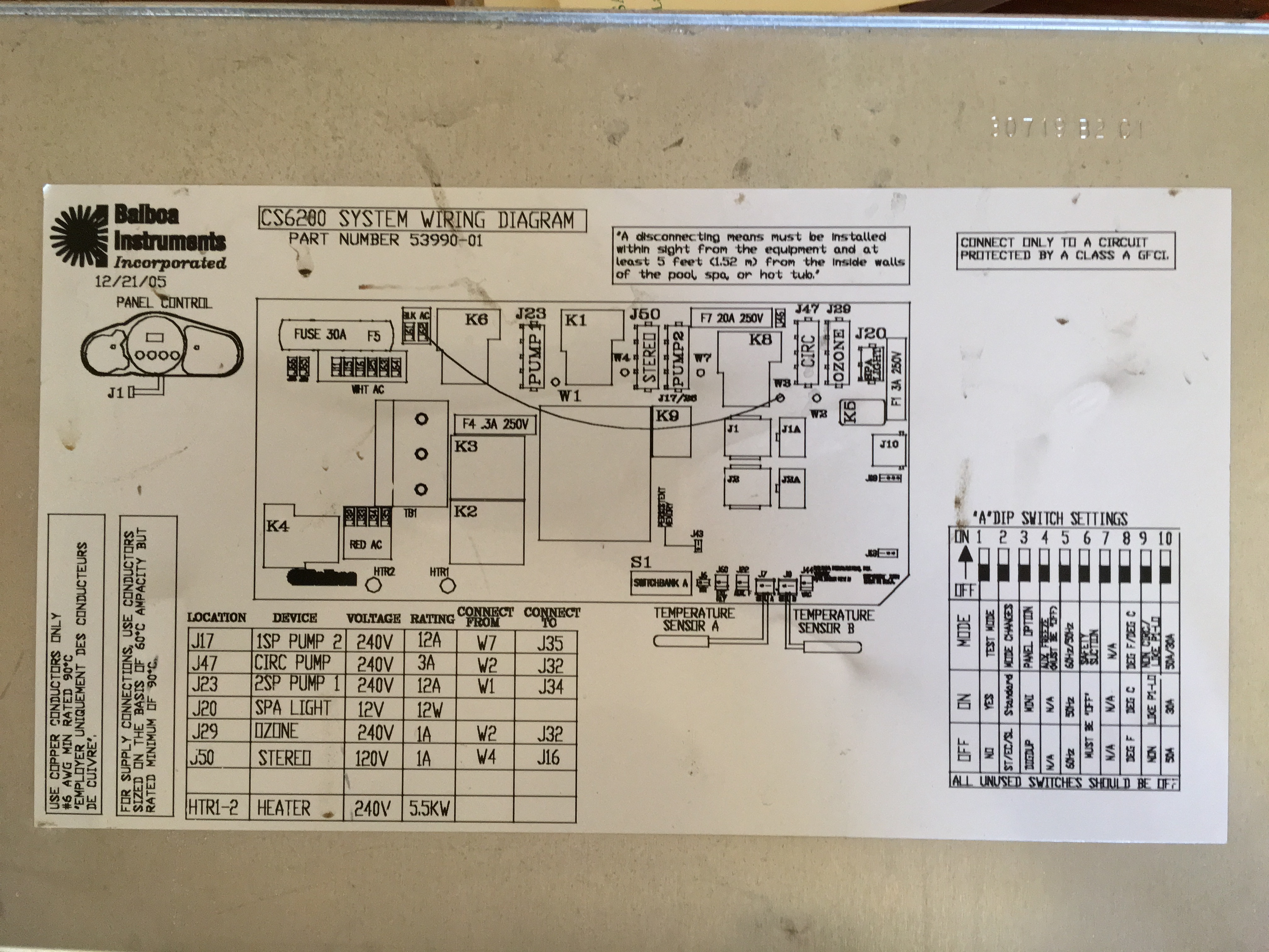Cal Spa Heater Wiring Diagram Model 5000 Schematics. My Heater On Cal Spa Went Out And Tripped The Breaker Air Switch Wiring Diagram Model 5000. Wiring. Cal Spa Wiring Diagram A4 At Scoala.co