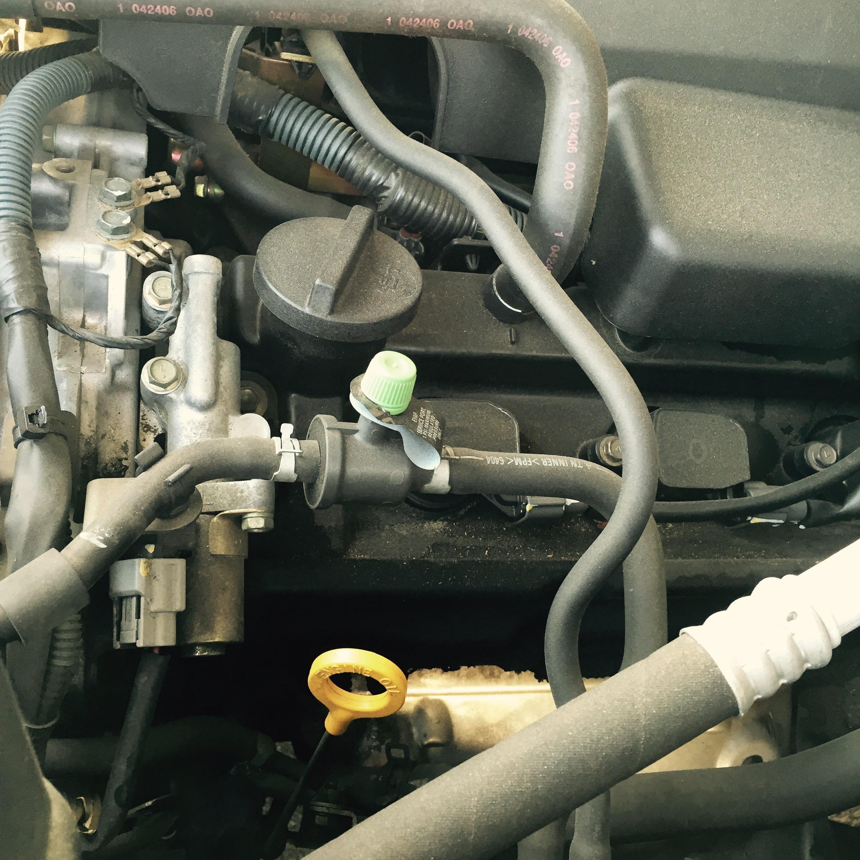 Nissan Xterra 2006 V6 camshaft fault code p0340 after