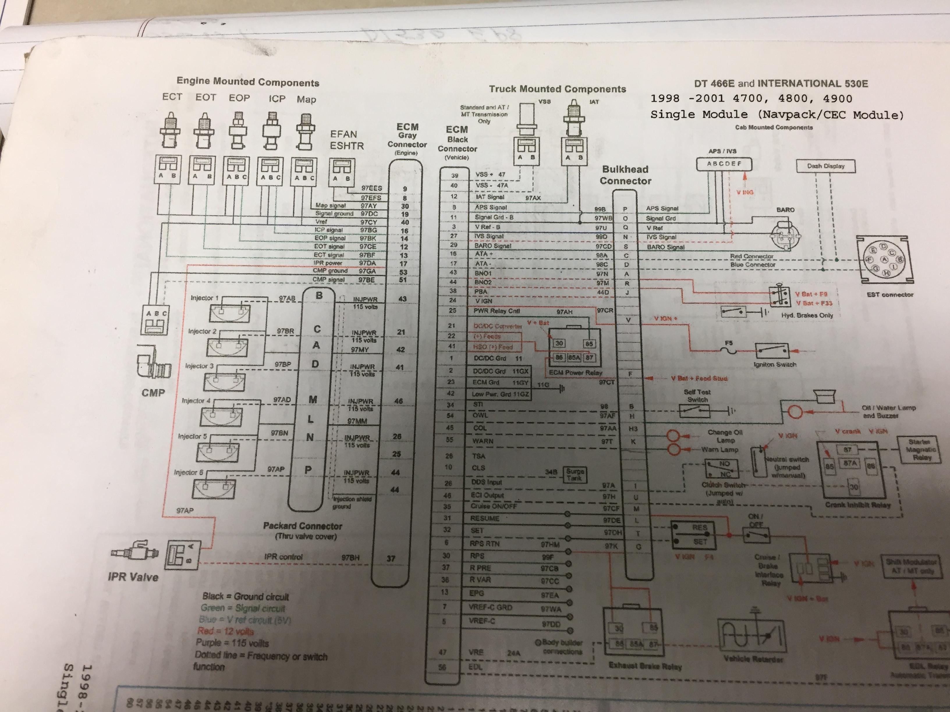I Got A 2001 Dt466 Truck Vin 1h364453 Code 266 239 11 Navistar 4300 Dt 466 Engine Cooling Diagram Fed71ac0 1fbf 428d 92b9 7d30b95b65e3jpeg