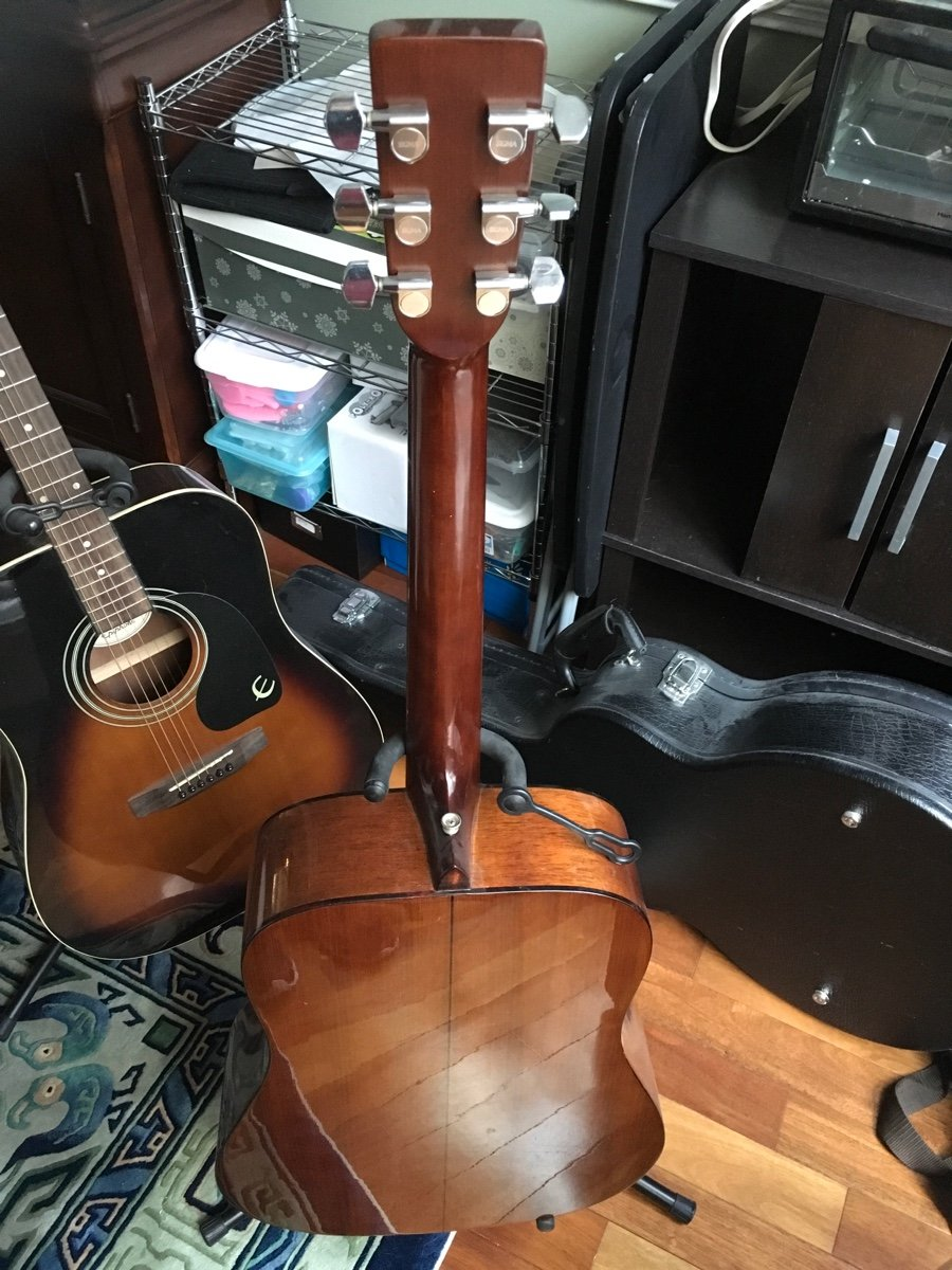 For appraiser JM  Here is a Sigma Guitar, which was A early  This is