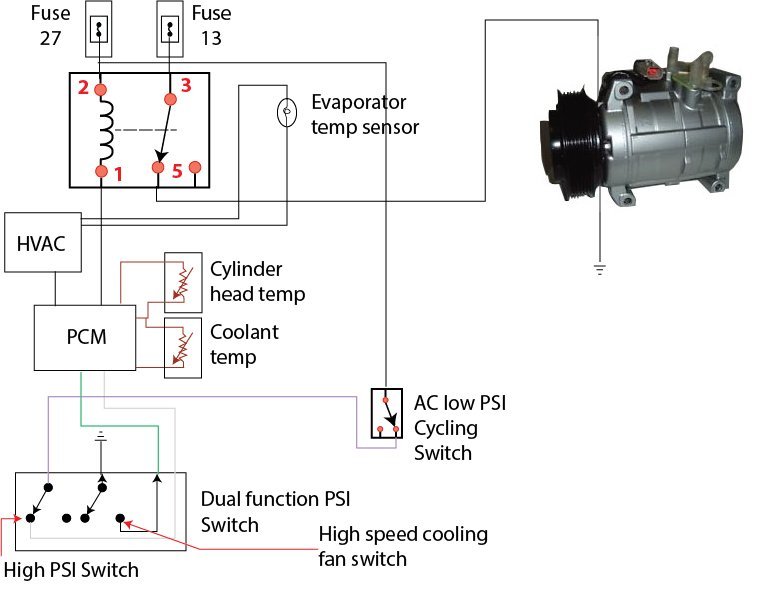 Fan Cycle Switch Wiring Diagram