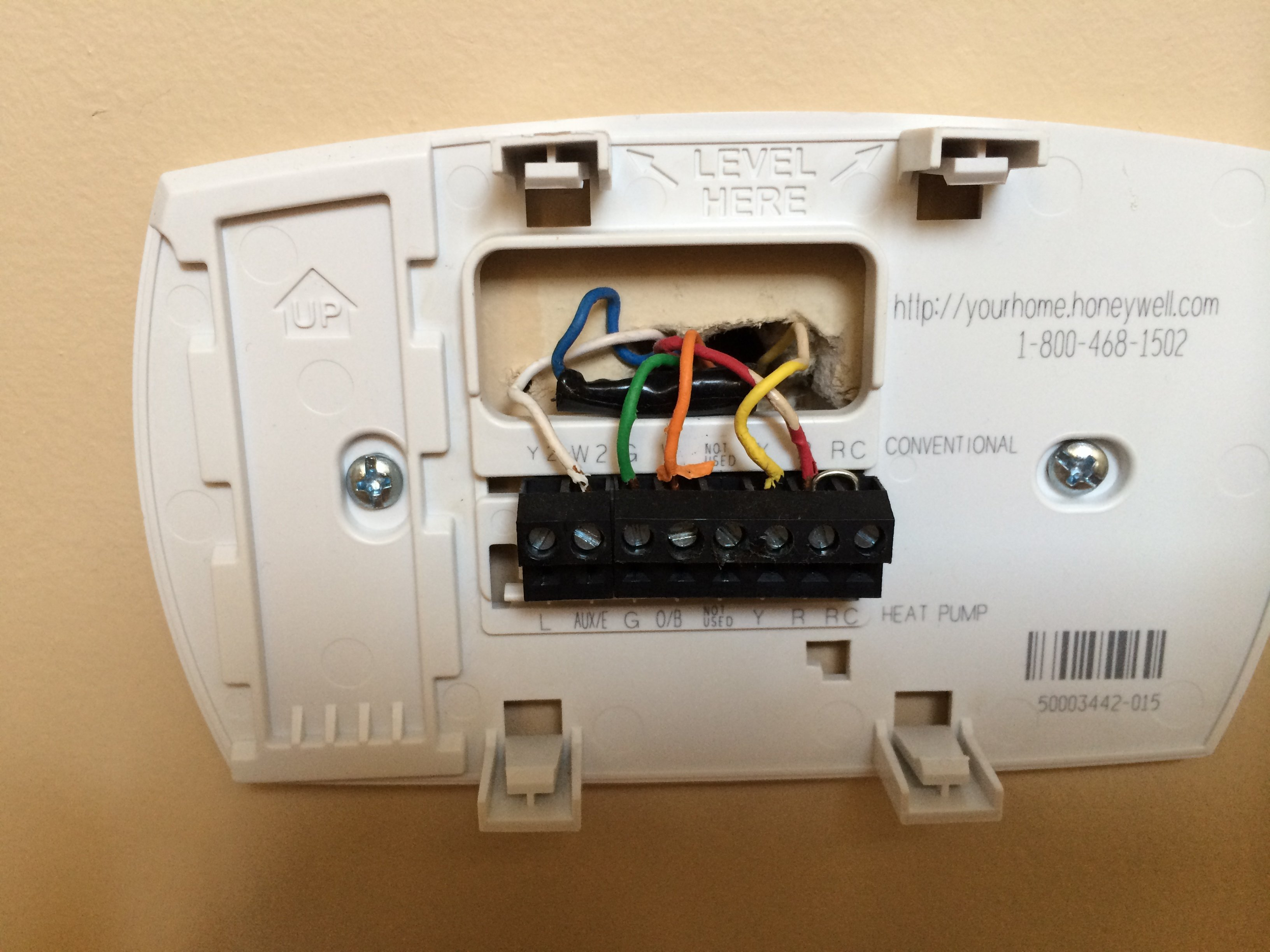 Wiring Diagram For Honeywell Thermostat Th5110d1006 : Honeywell th d wiring diagram