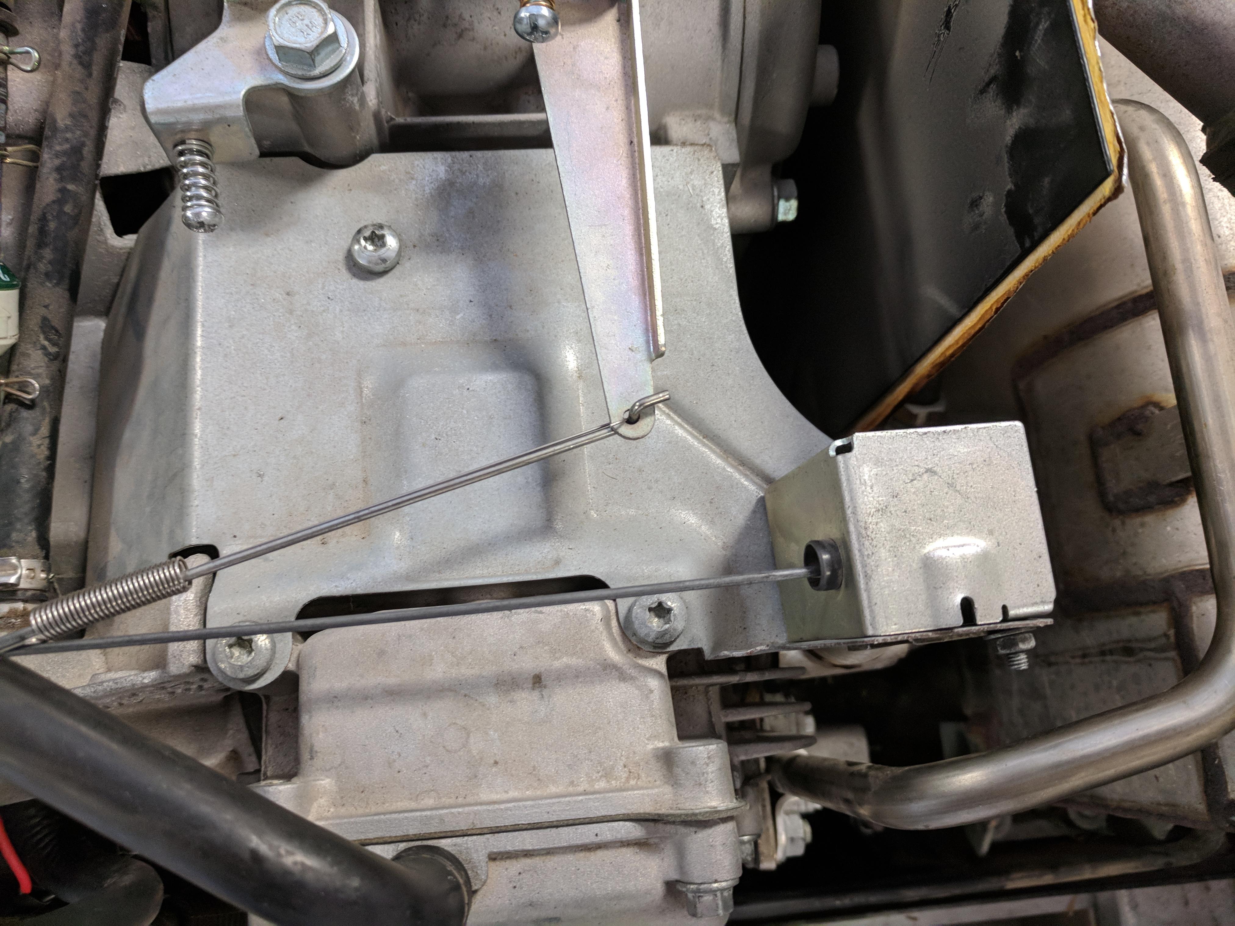 I'm working on an Onan RV QG 4000 EVAP  Modle #4kyfa-6147P