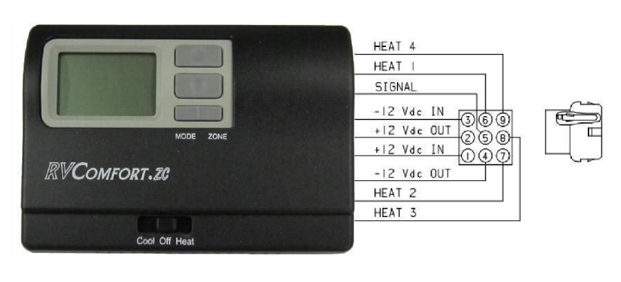 i have a 2013 journey with a rv comfort zc thermostat it acts like rh justanswer com