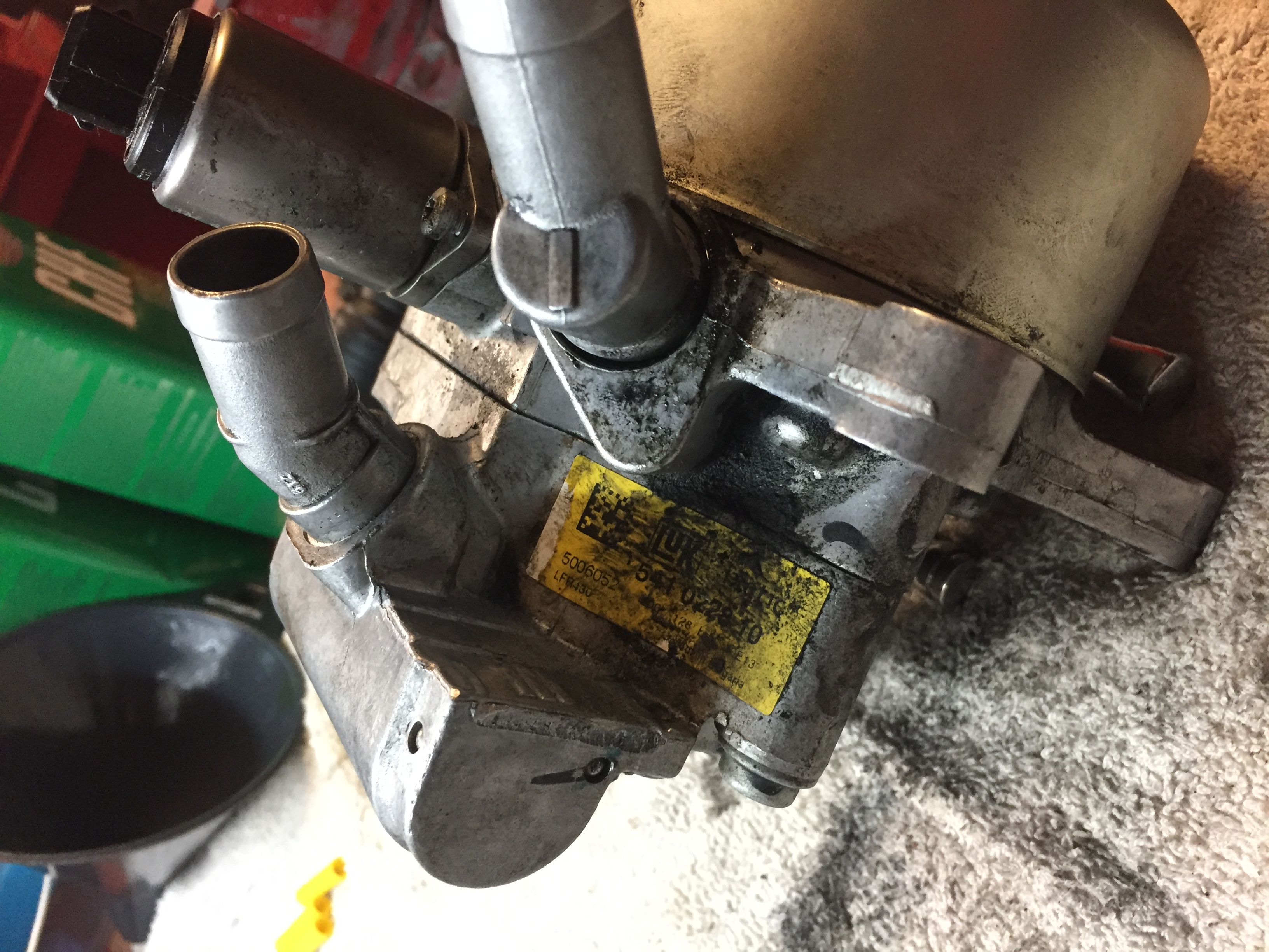 I have a 2003 sl500 which blew all the hydraulic fluid out on the