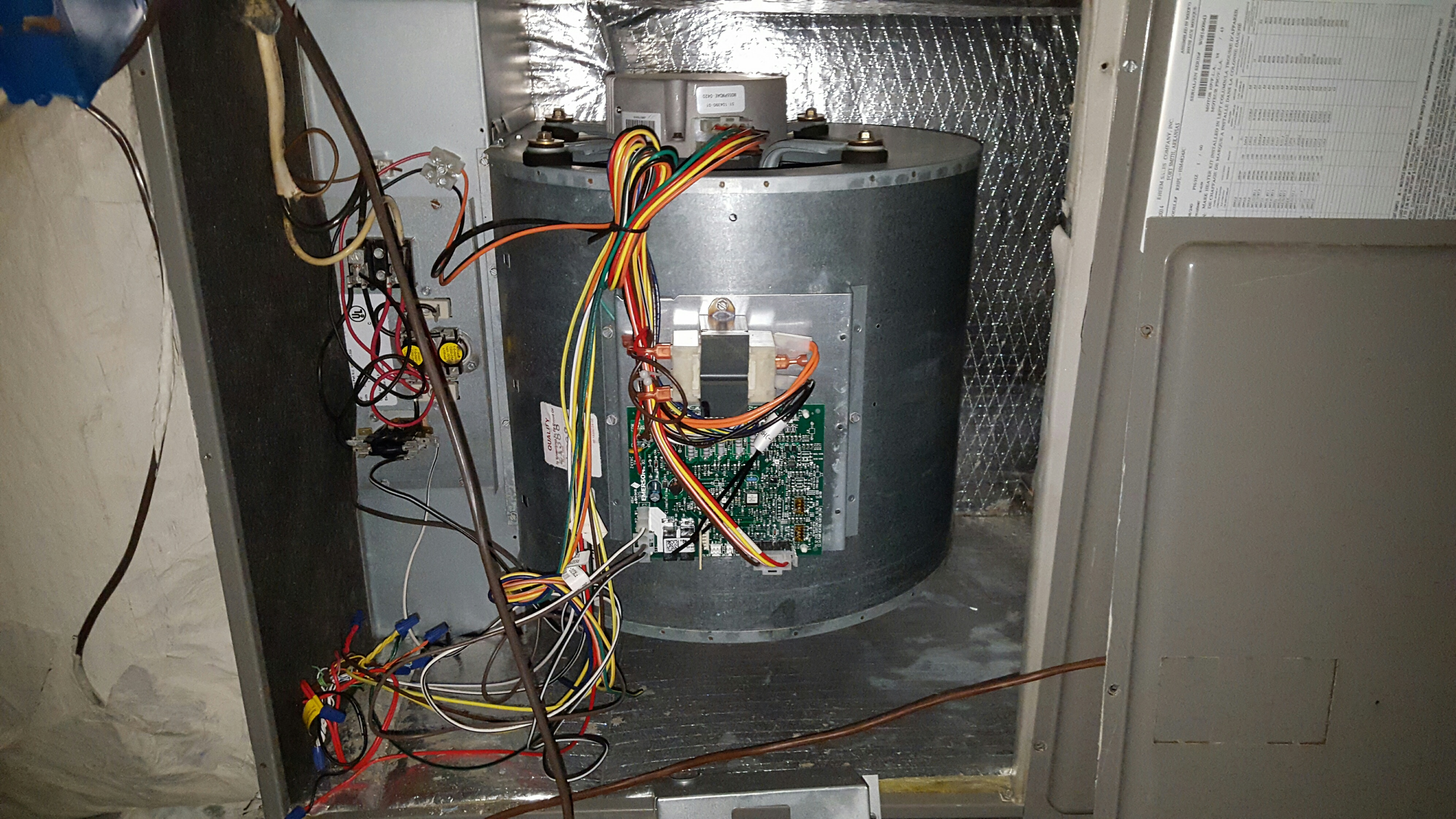 I have a Rheem heat pump  I have three zones configured  The