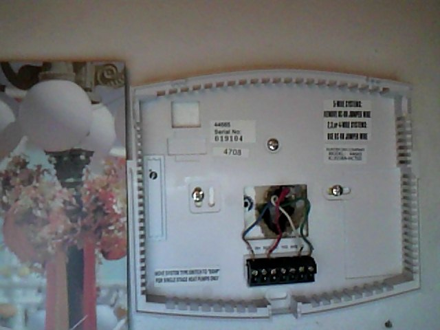 i installed a hunter 44665 thermostat this spring but since the rh justanswer com Trane Thermostat Wiring Diagram Trane Thermostat Wiring Diagram