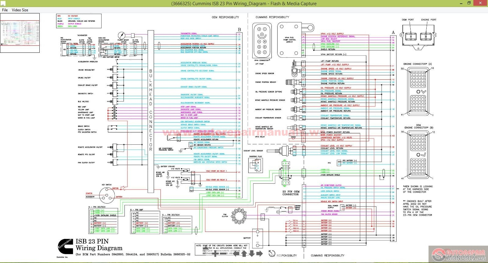 401c0acc 84cf 4b84 91fc 17fd94b57f7d_Cummins_ISB_23_Pin_WiringDiagram 2008 freightliner m2 business class with a cummins 8 3l freightliner ecm wiring harness at webbmarketing.co