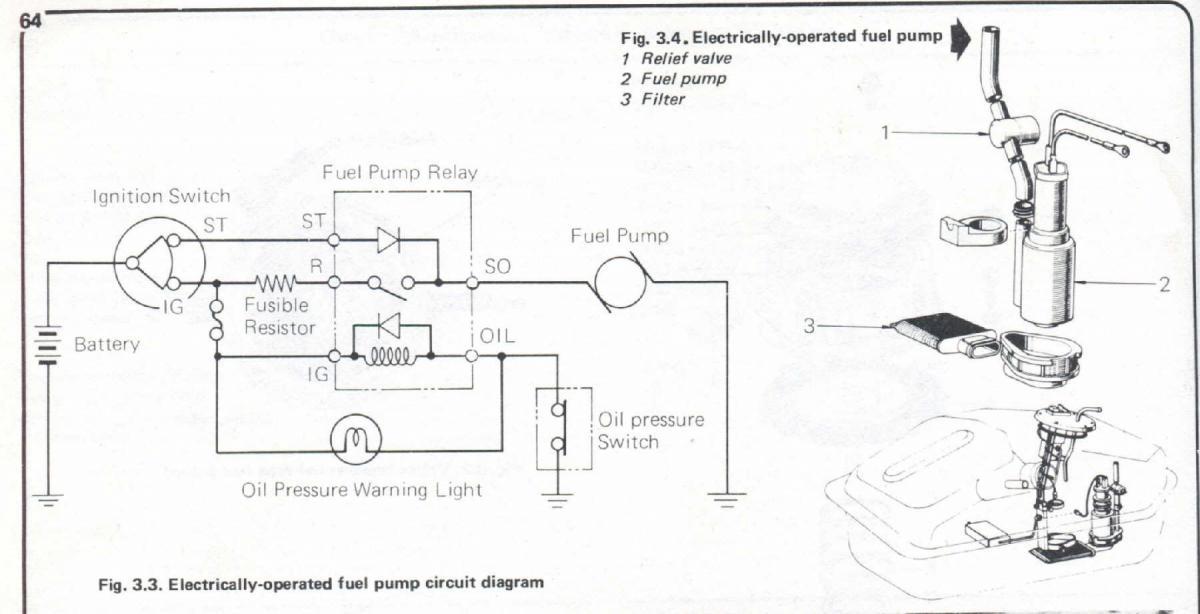 1978 toyota pickup based motorhome fuel pump not. Black Bedroom Furniture Sets. Home Design Ideas