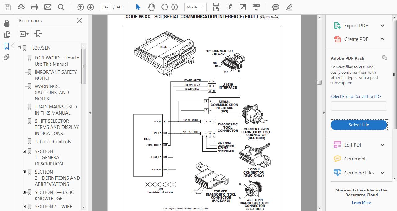 I Have A 2006 C7500 With C7 Acert It Came To Me As No Crank International Dt466 Ecm Wiring Diagram 933c6232 82e0 4e22 B2e2 43c905f9bf1c Allison 66 00 Troubleshooting