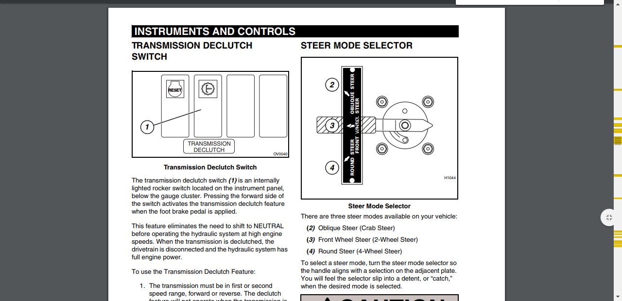 Im Working Ona Lull 1044c 54 And You Cant Switch The Steering Wiring Diagram B36b78c1 512c 415f A760 91859d235a18 Steer Mode Selector