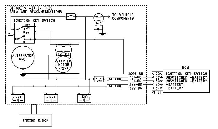 Cat Ecm Diagram Wiring €�: Caterpillar Mini Excavator Ignition Switch Wiring Diagram At Goccuoi.net
