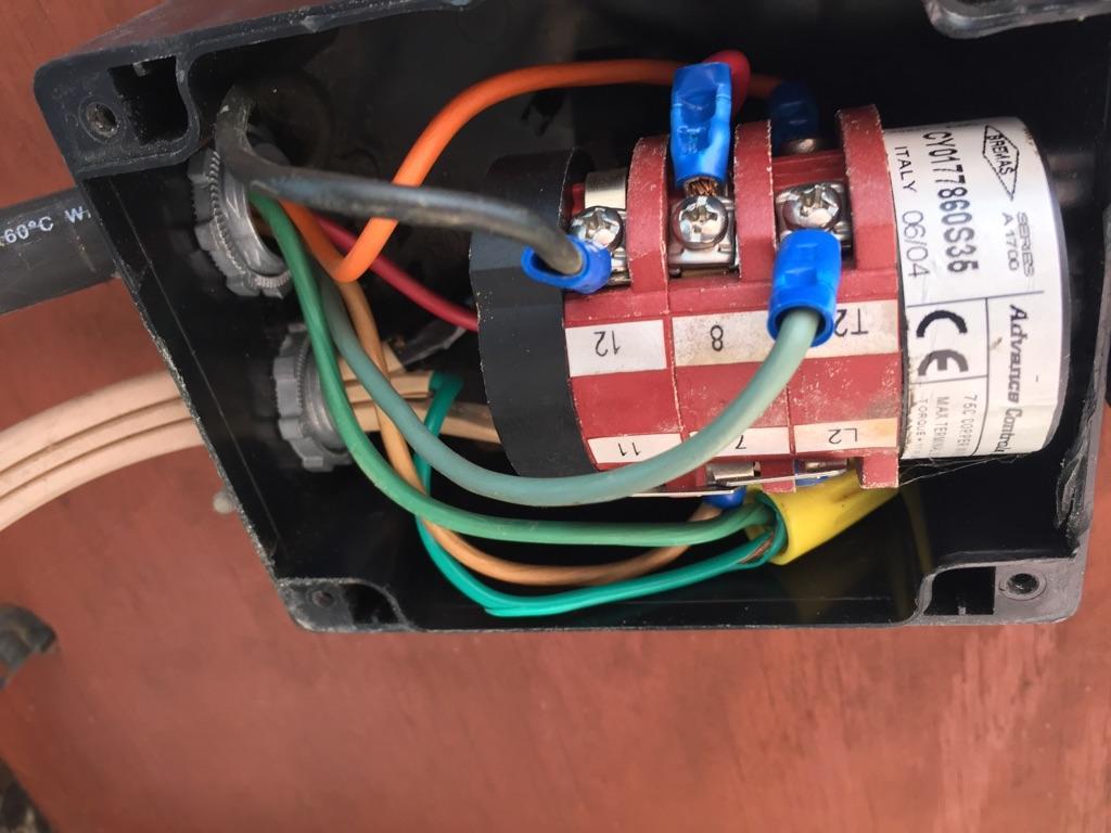 Need Help Wi I Need Help Hooking Up A Baldor 1 1 2 Hp Motor